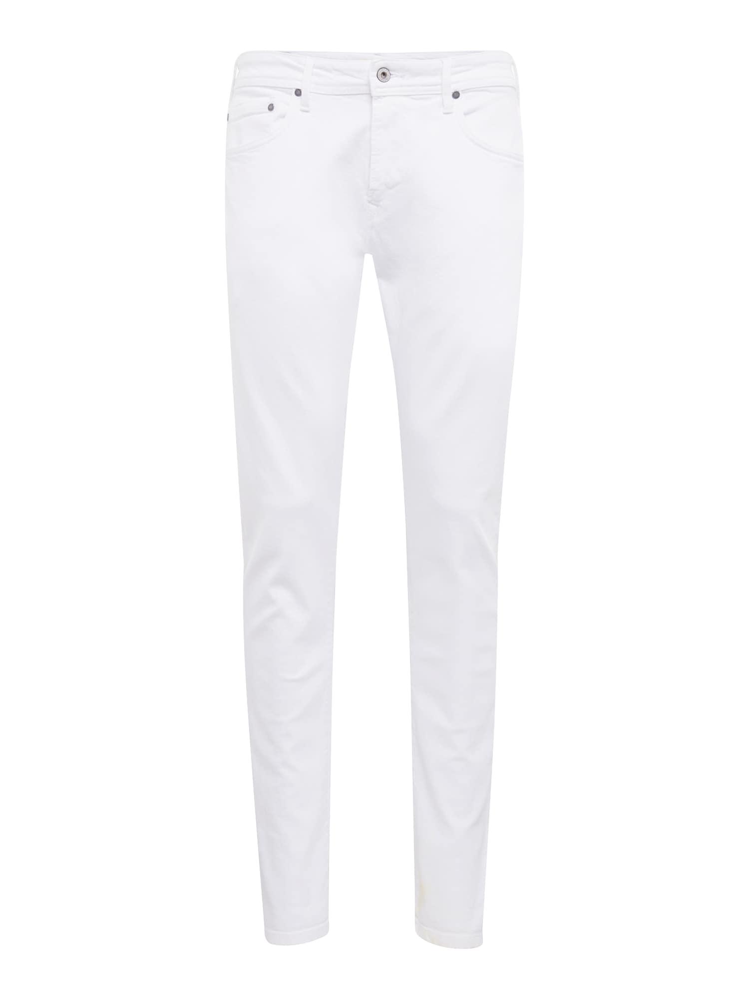 Džíny STANLEY bílá džínovina Pepe Jeans