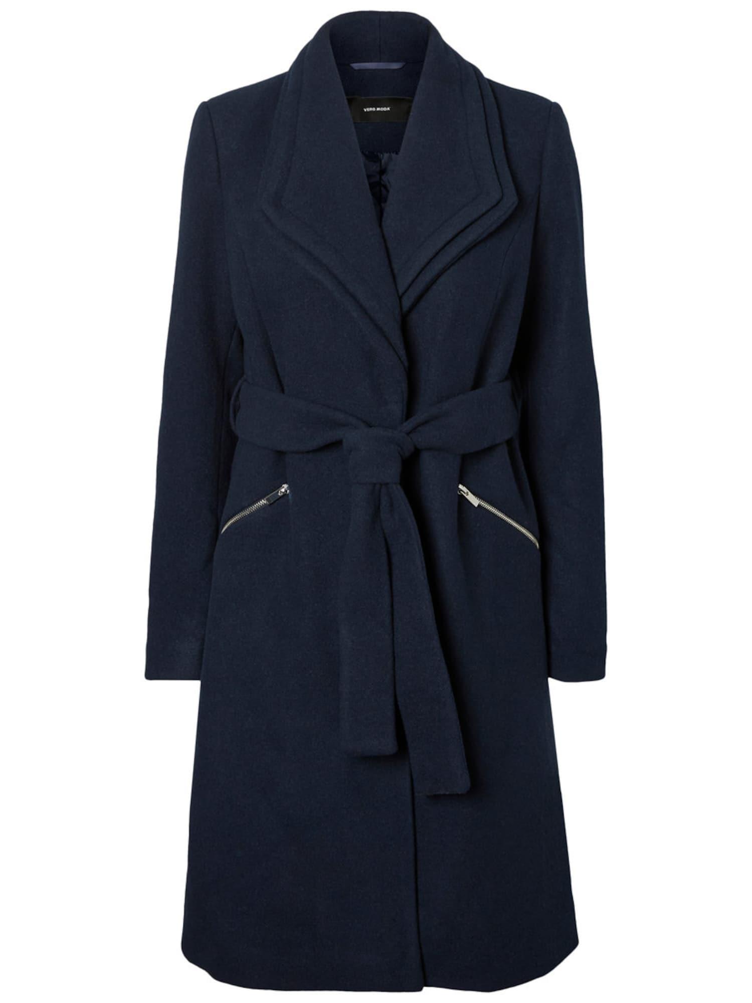 Přechodný kabát VMPISA námořnická modř VERO MODA