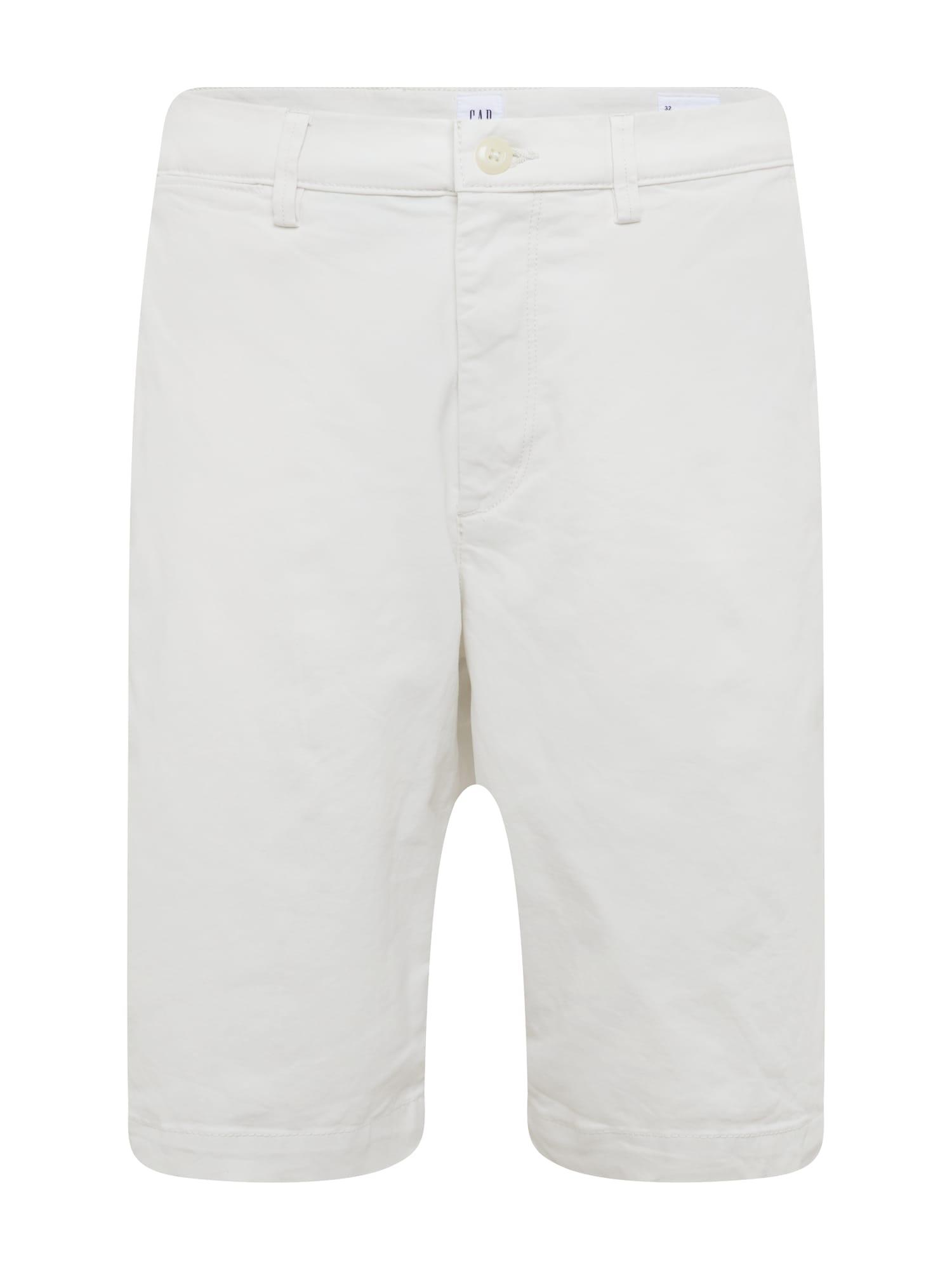 Chino kalhoty šedá GAP