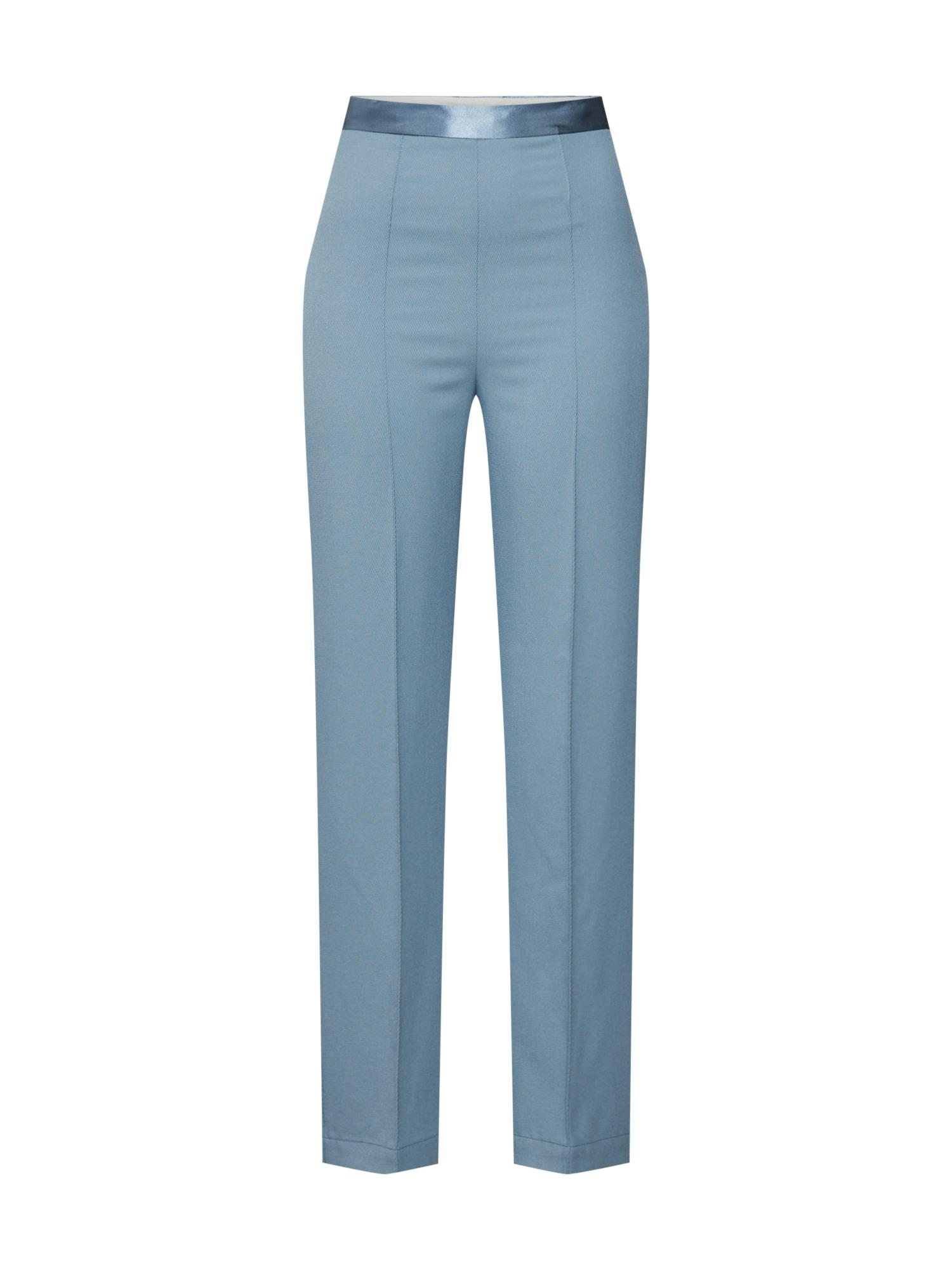 SOAKED IN LUXURY Kalhoty 'SL Beatrix Pants'  kouřově modrá
