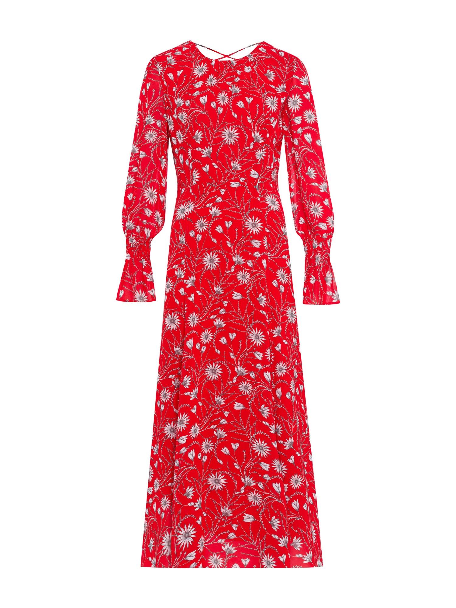 Letní šaty režná červená bílá IVY & OAK