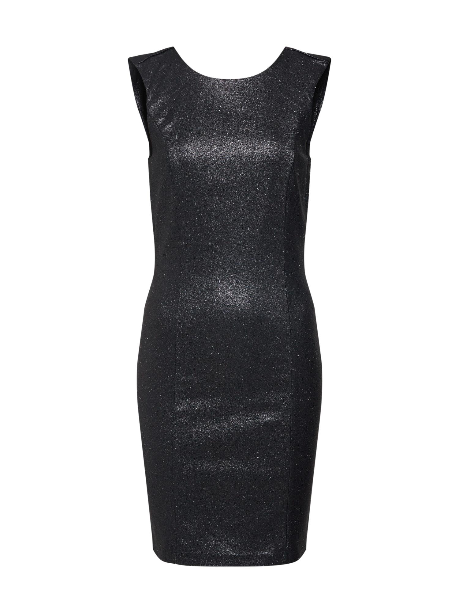 Šaty NALA BODYCON SHORT DRESS černá VERO MODA