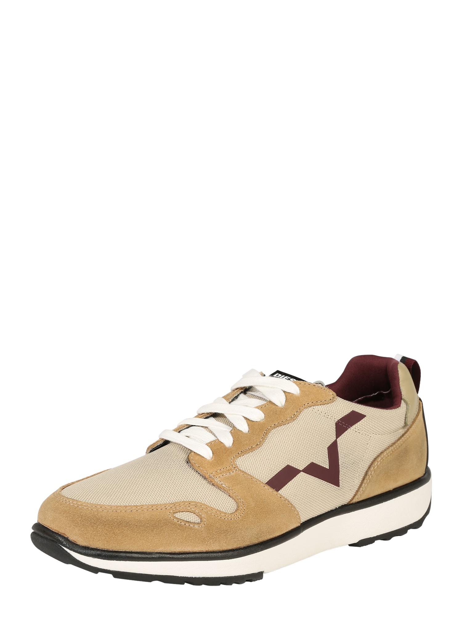 DIESEL Heren Sneakers laag RV sand