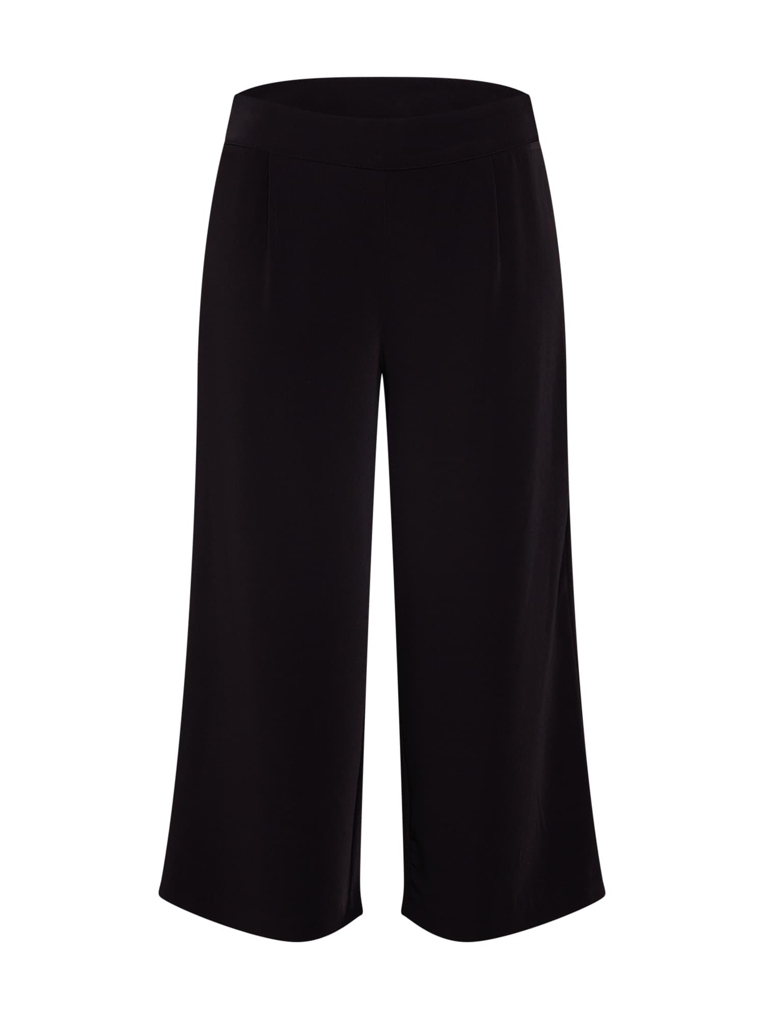 Kalhoty se sklady v pase ZOEY černá Noisy May