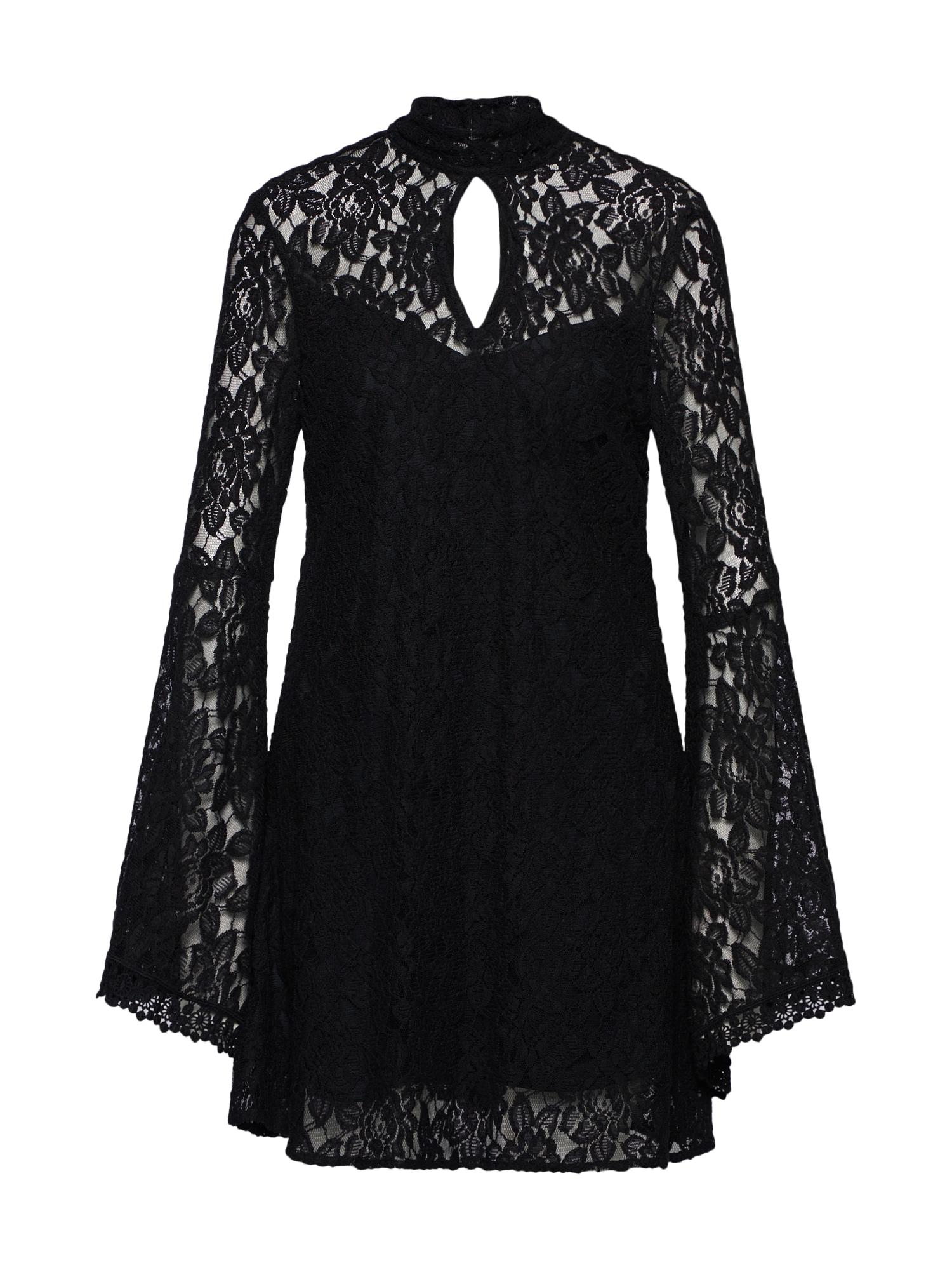 Koktejlové šaty VANAJA černá Farina Opoku