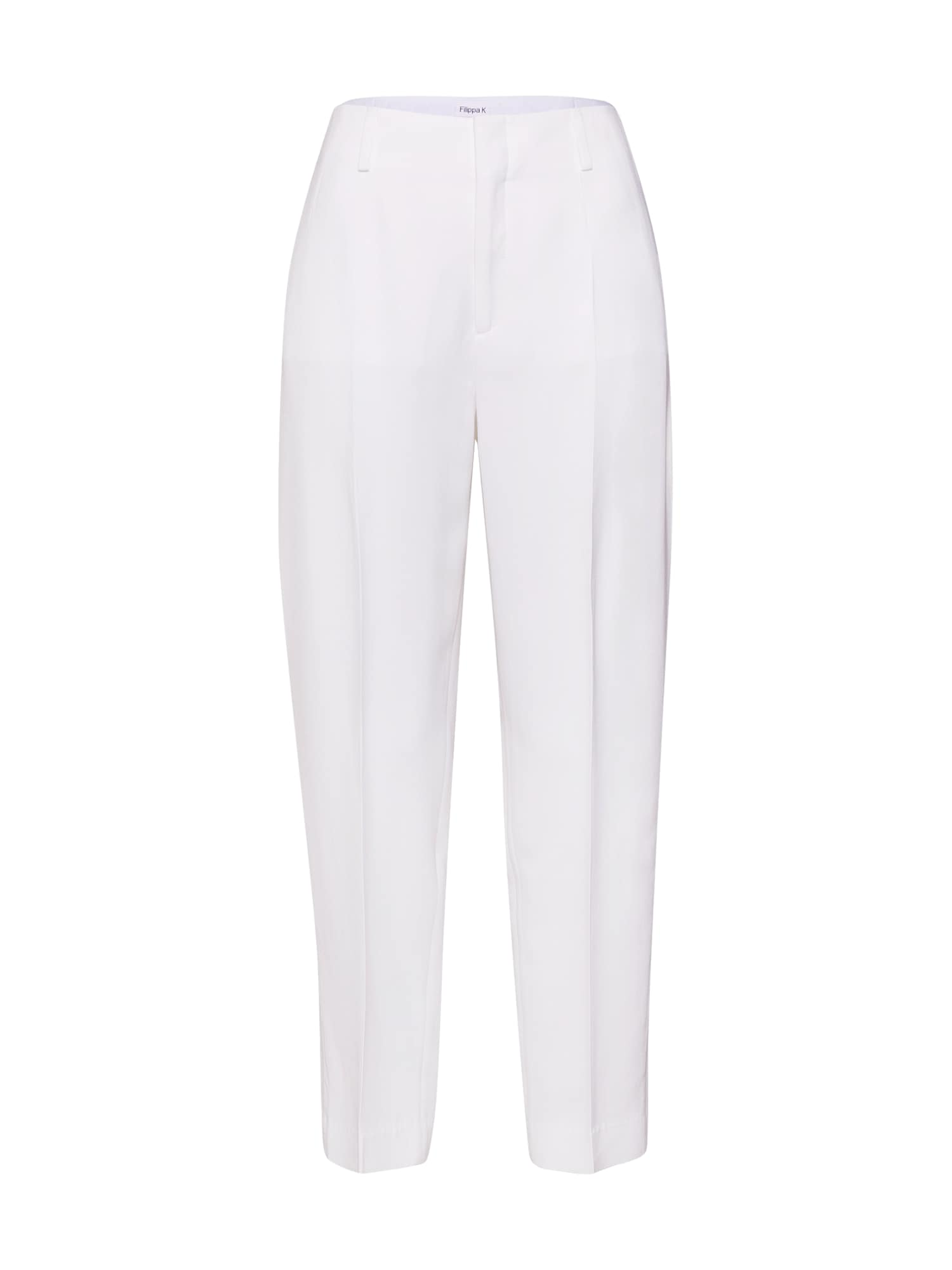 Kalhoty se sklady v pase Karlie bílá Filippa K