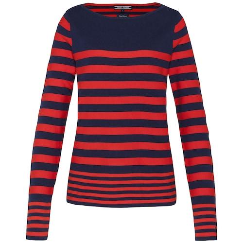TOMMY HILFIGER Shirt ´IVY STP BOAT-NK SWTR´ Sale Angebote Felixsee