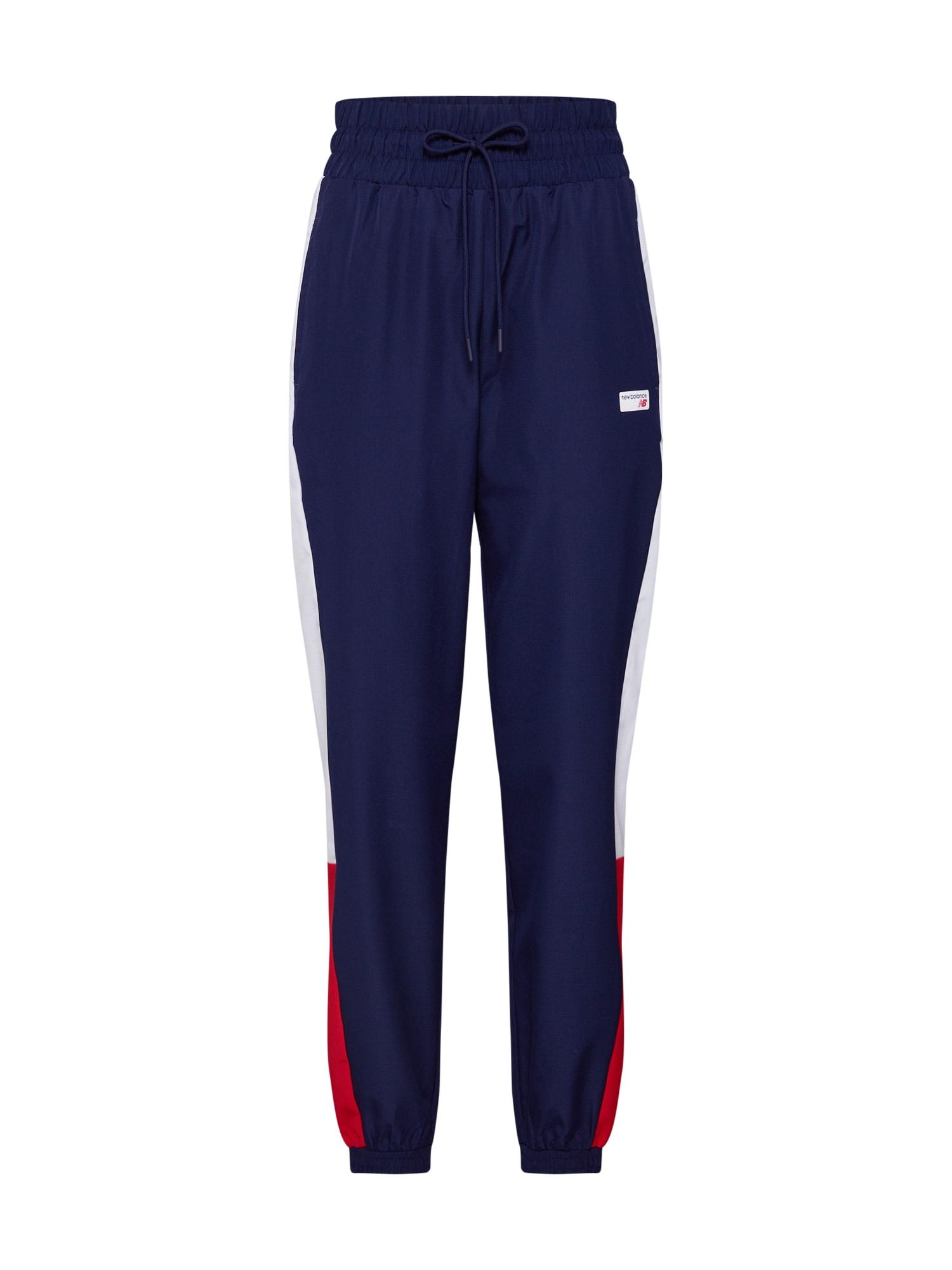 Kalhoty ATHLETICS WIND  námořnická modř červená bílá New Balance