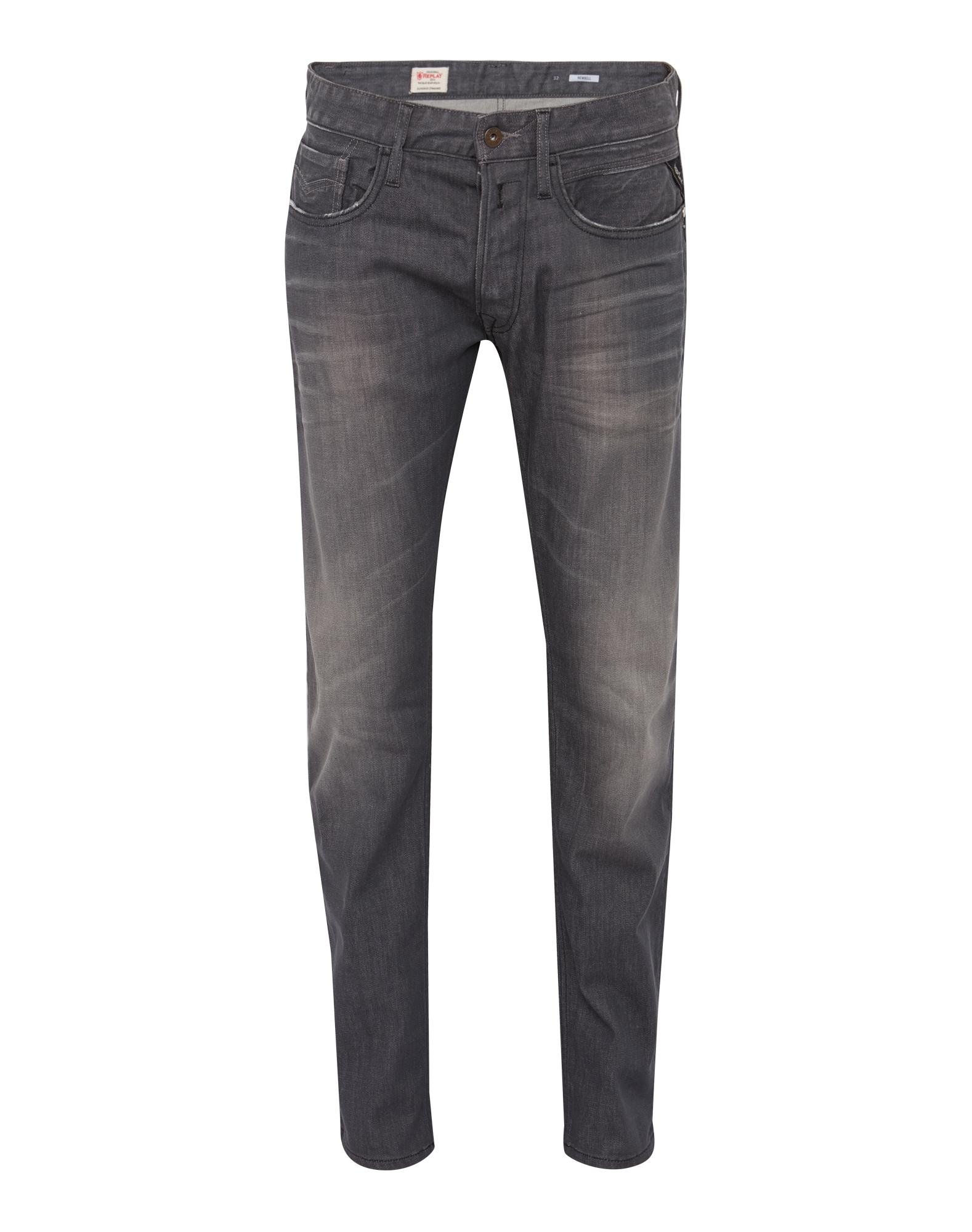 REPLAY Heren Jeans Newbill grey denim