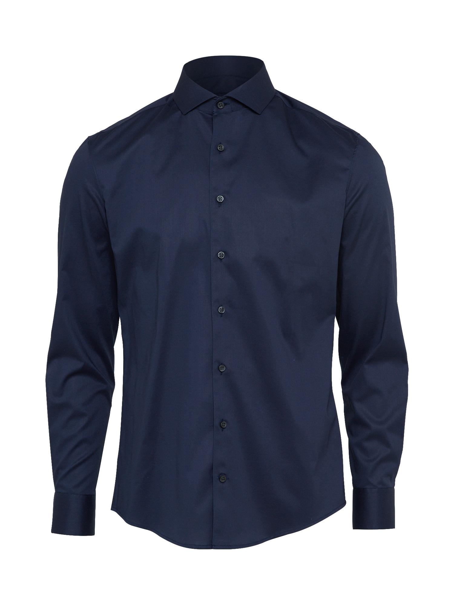 Společenská košile ELIAS tmavě modrá DRYKORN