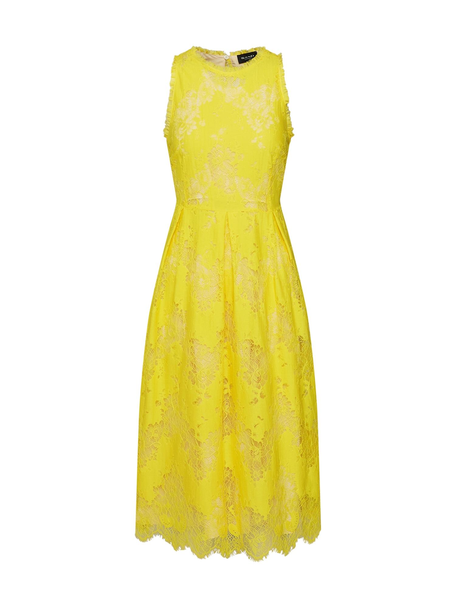 Letní šaty Noam žlutá SAND COPENHAGEN
