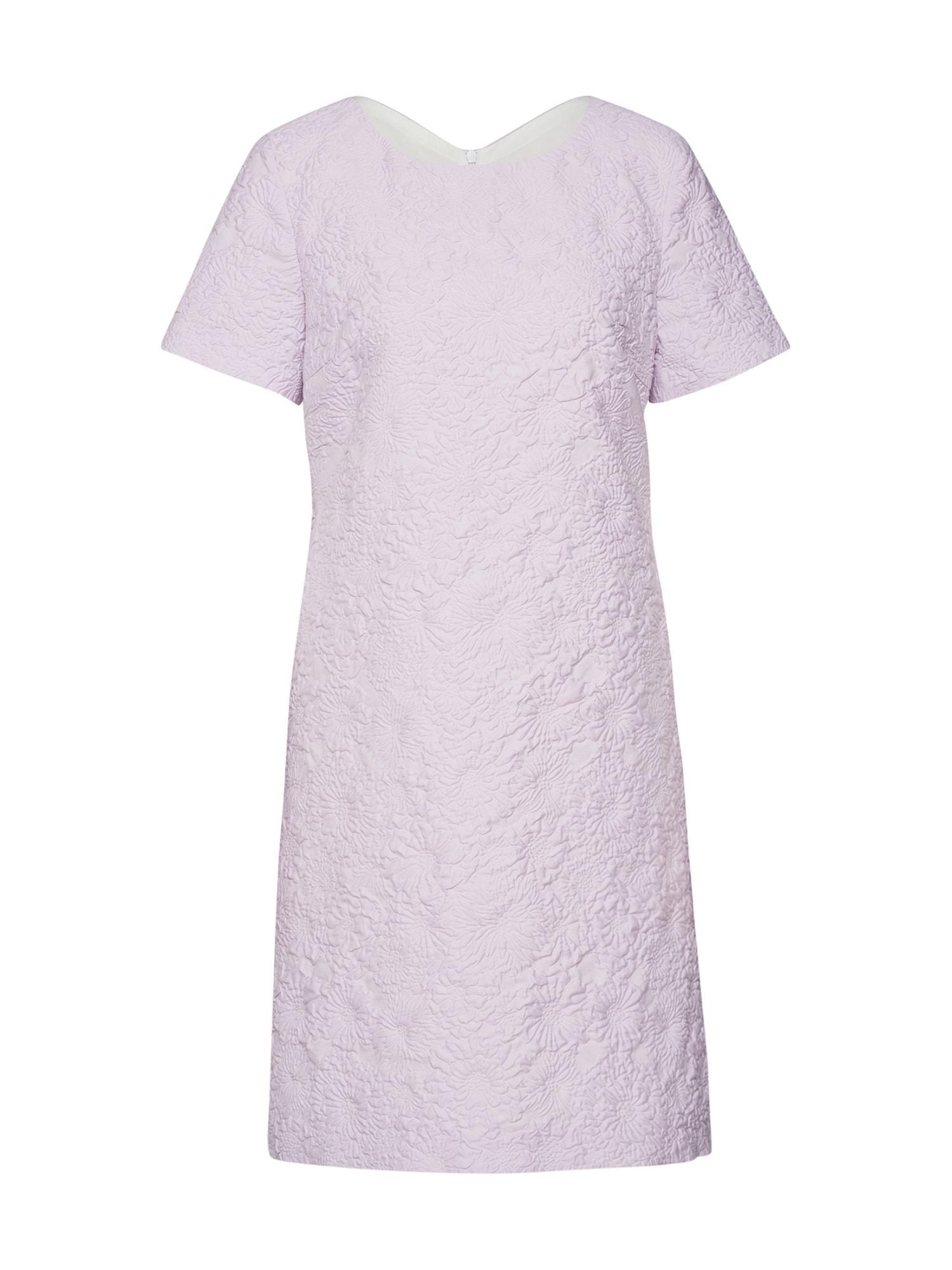 Koktejlové šaty fialová RENÉ LEZARD