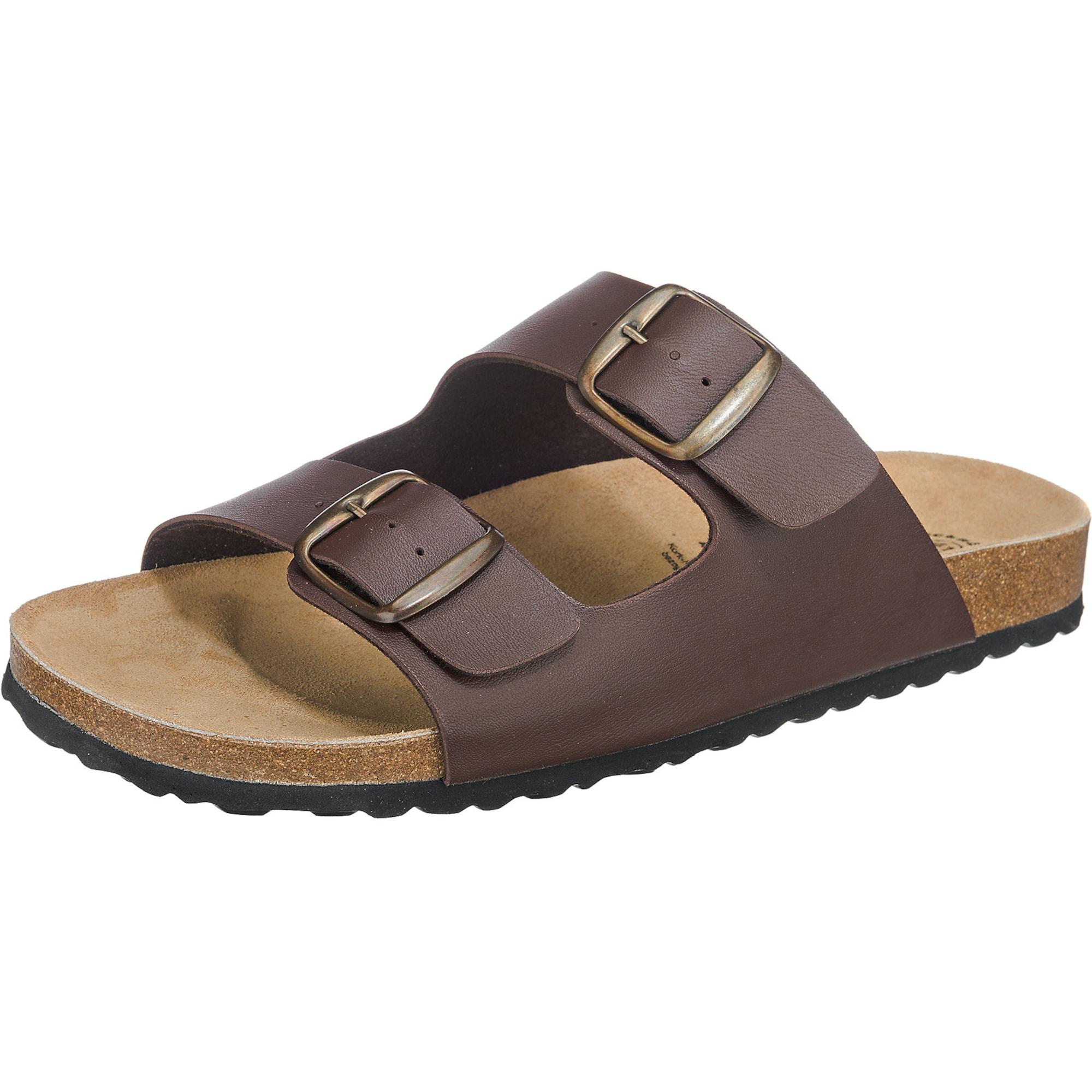 Bioline Man Komfort-Pantoletten | Schuhe > Clogs & Pantoletten > Pantoletten | Braun | LICO