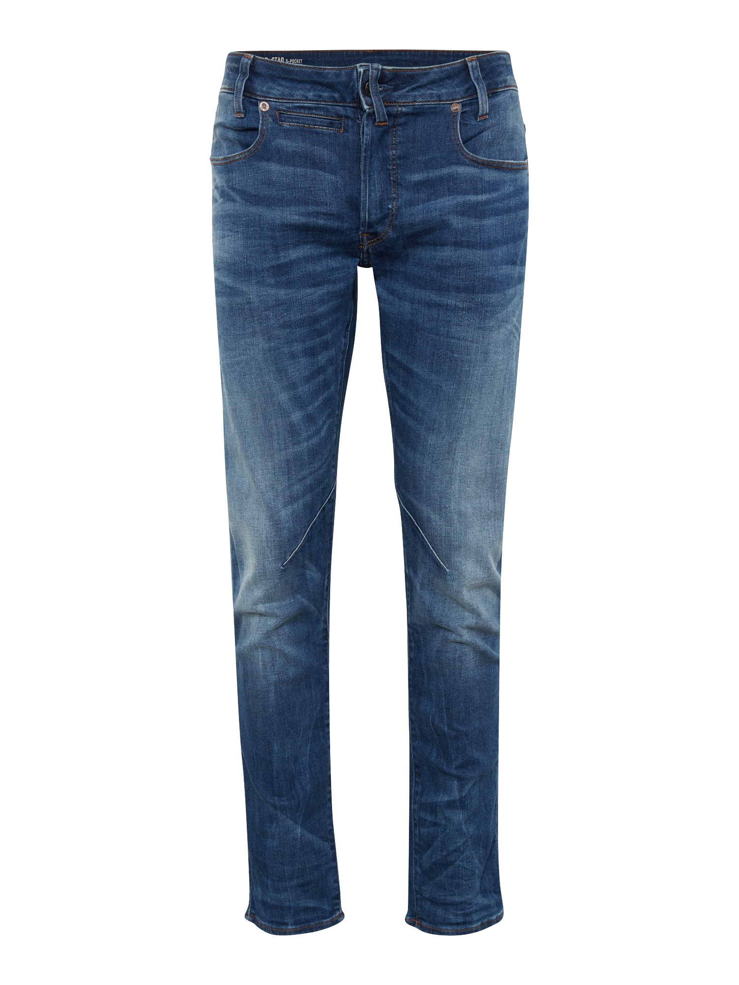 G-STAR RAW Heren Jeans D-Staq 5-pkt Slim blue denim