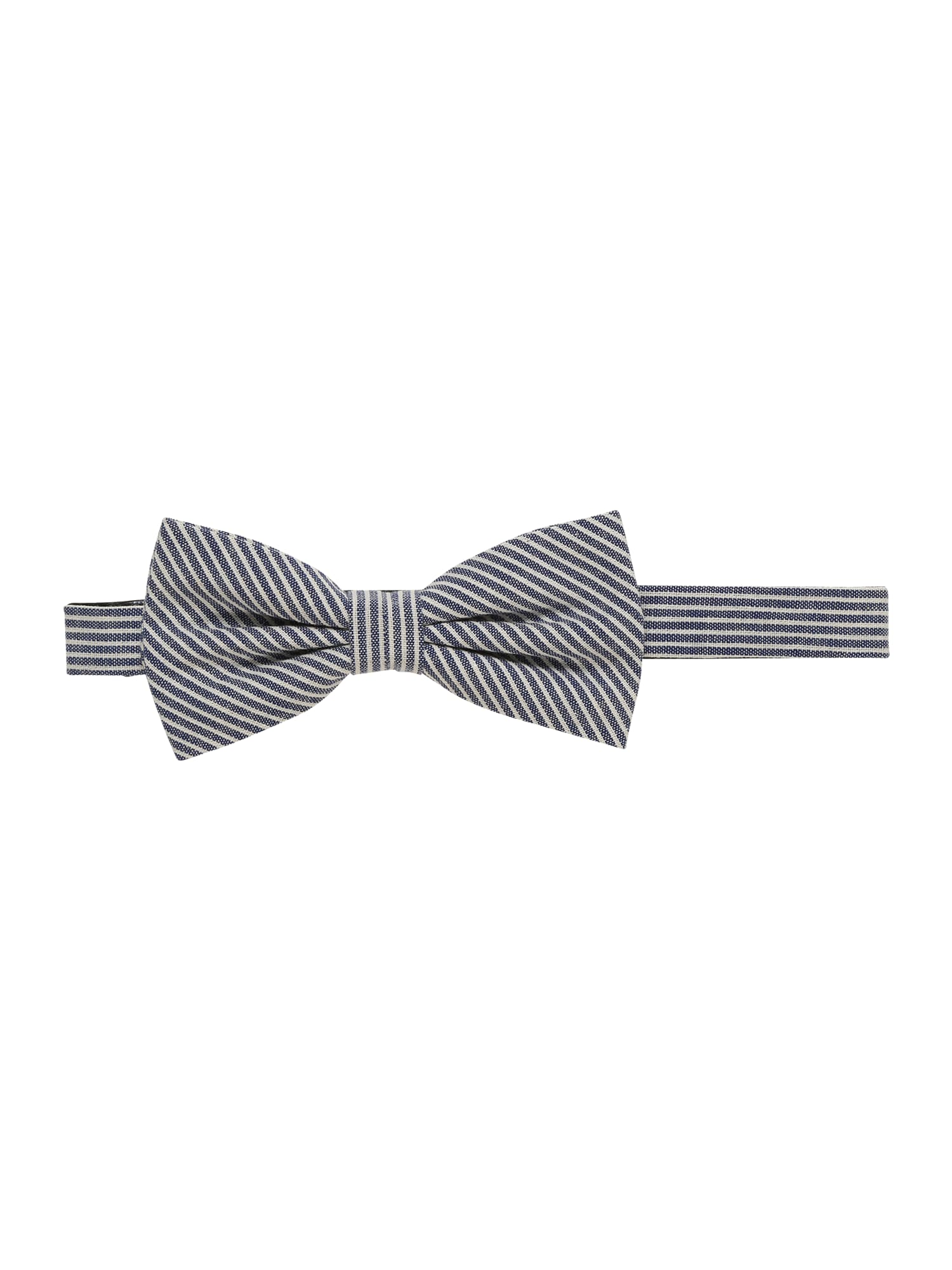 Motýlek striped bowtie modrá Esprit Collection