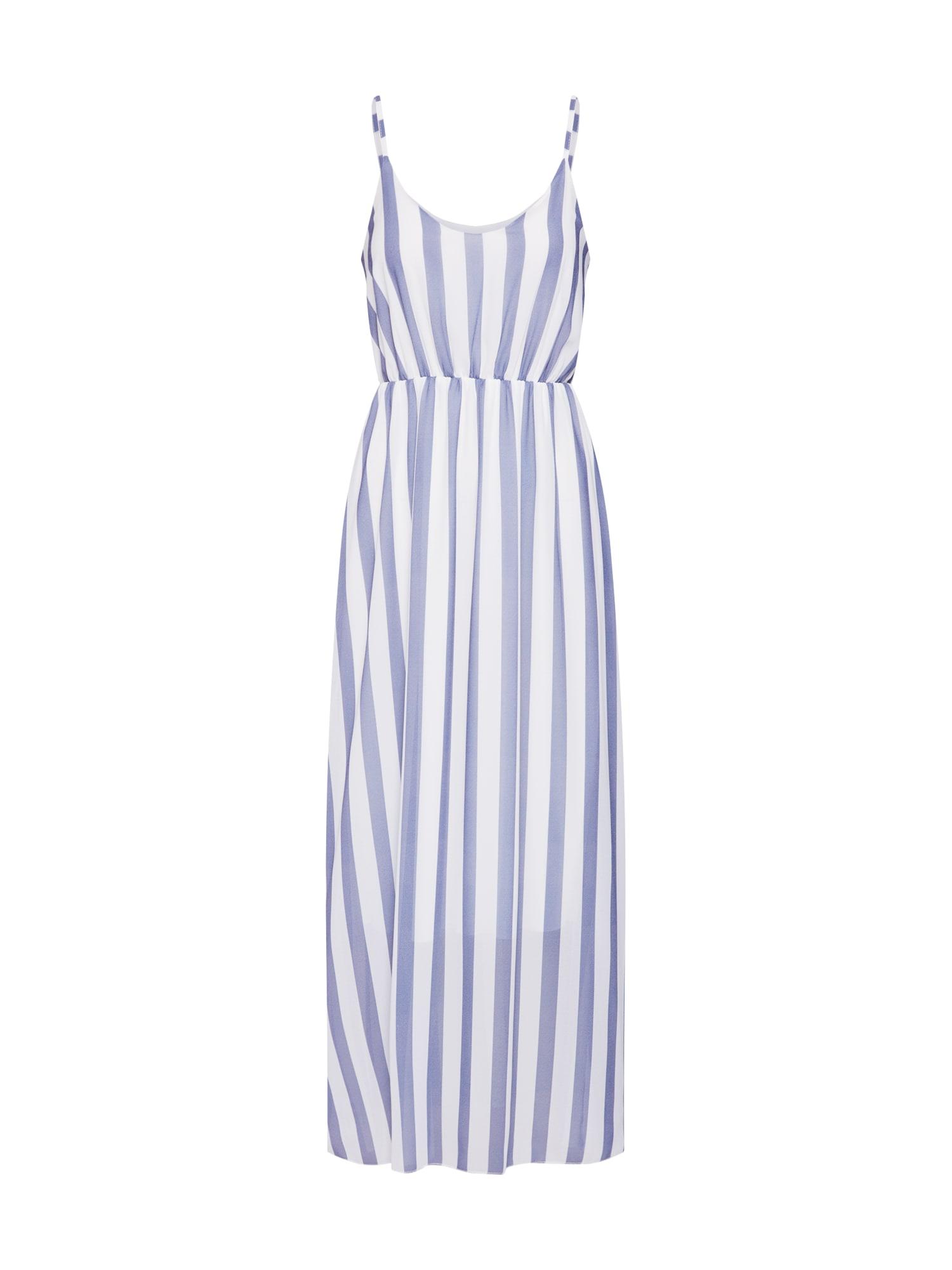 Letní šaty Sabrina modrá bílá Hailys