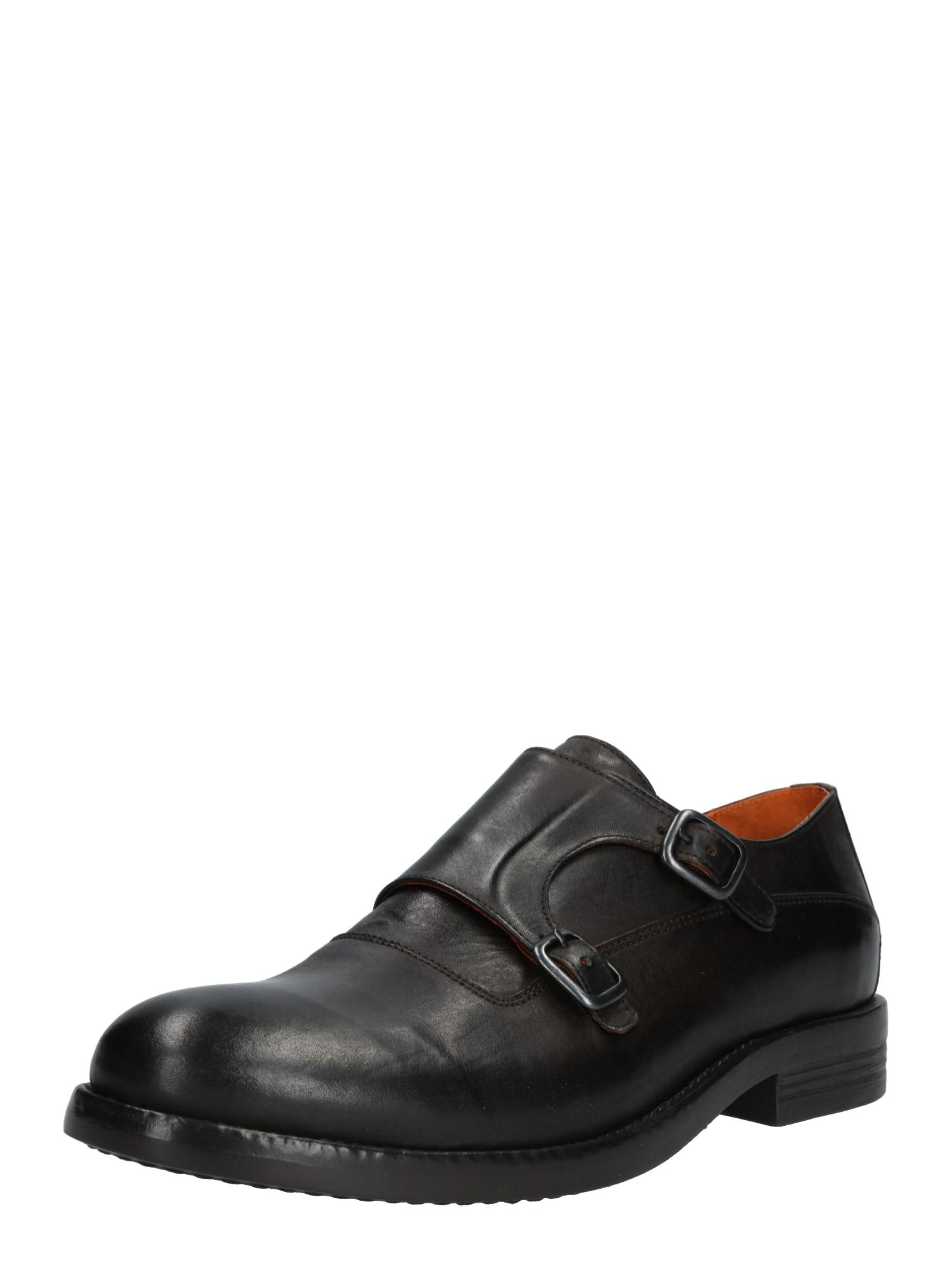 Sportovní šněrovací boty ACE tmavě hnědá Bianco