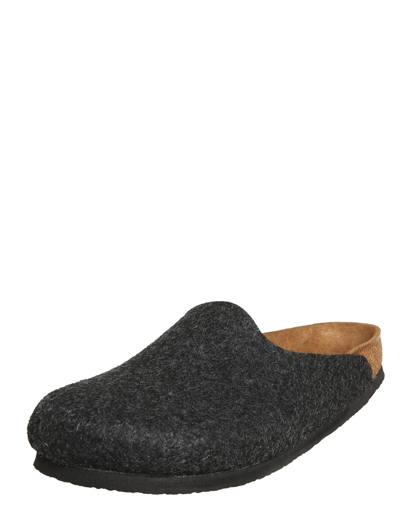 Pantofle antracitová BIRKENSTOCK