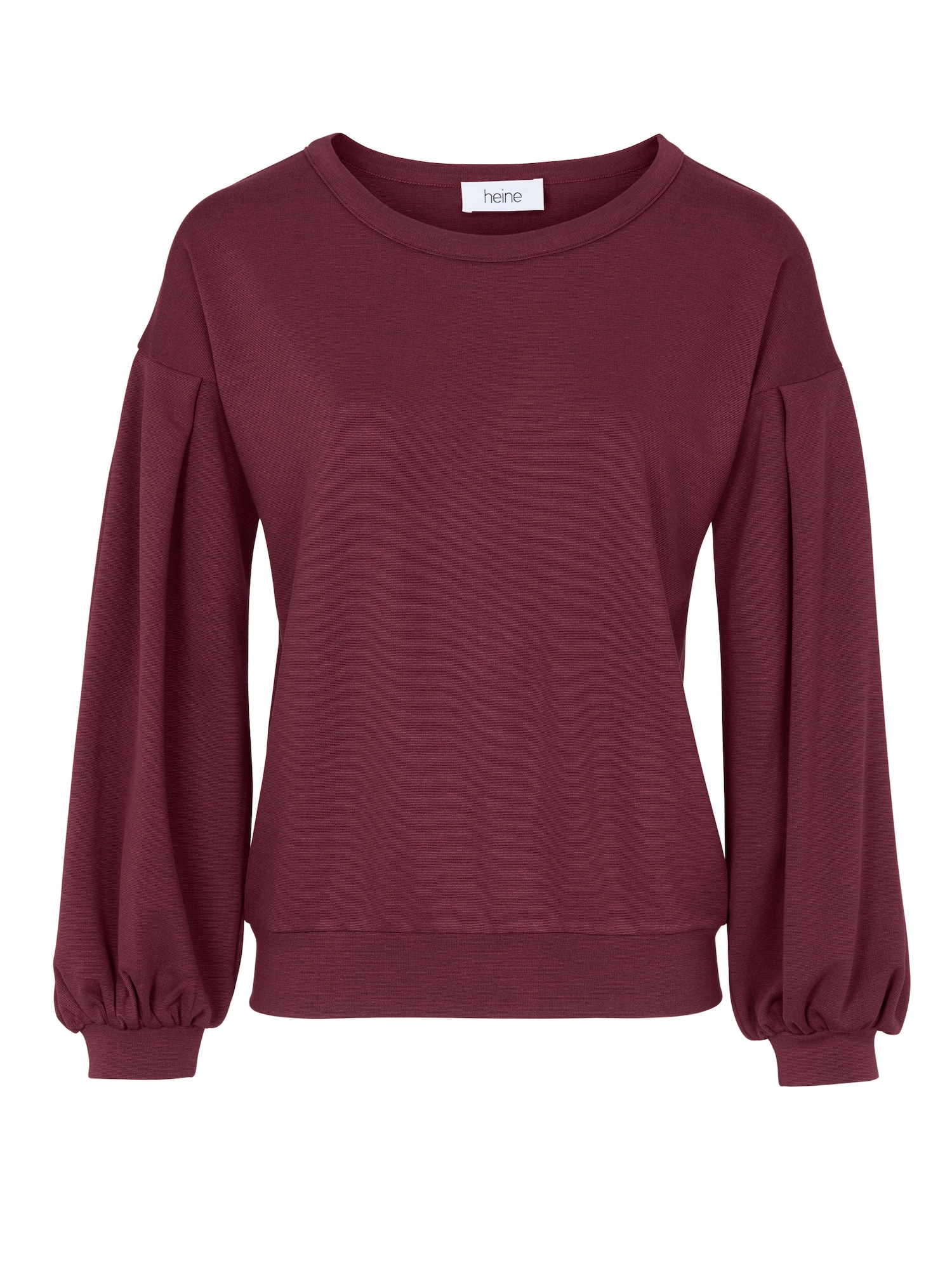Heine, Dames Sweatshirt, bordeaux