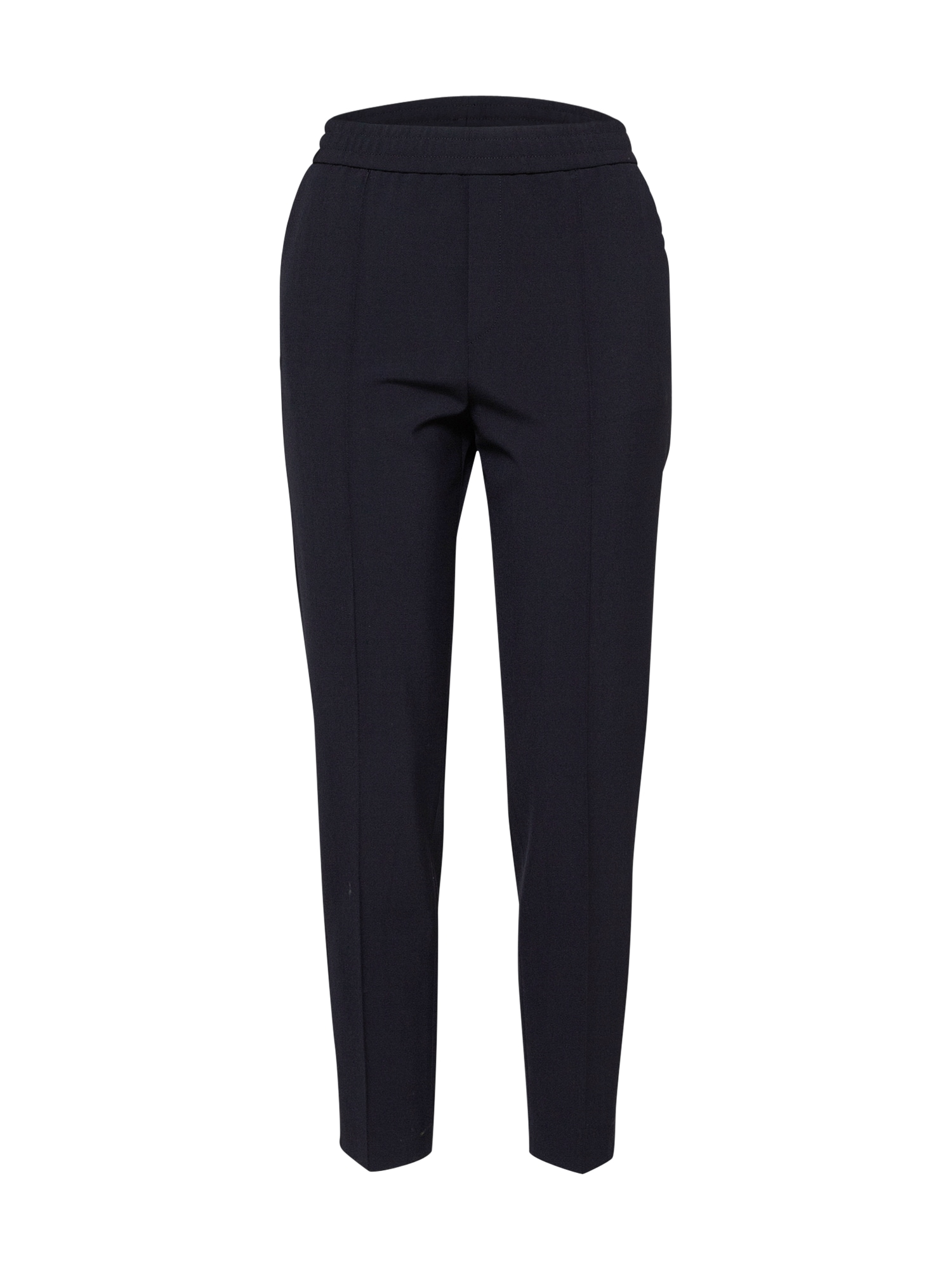 Kalhoty se sklady v pase Fiona Peg námořnická modř Filippa K