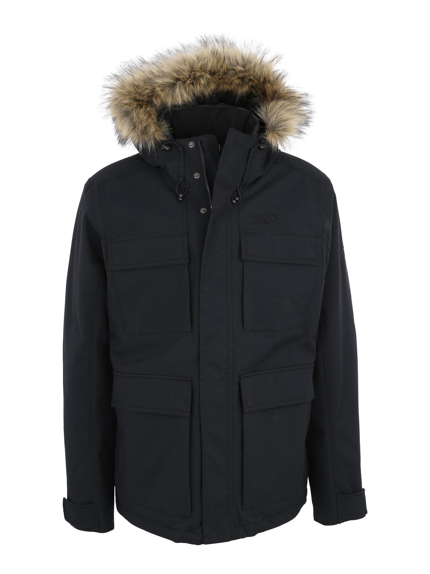 Outdoorová bunda POINT BARROW černá JACK WOLFSKIN