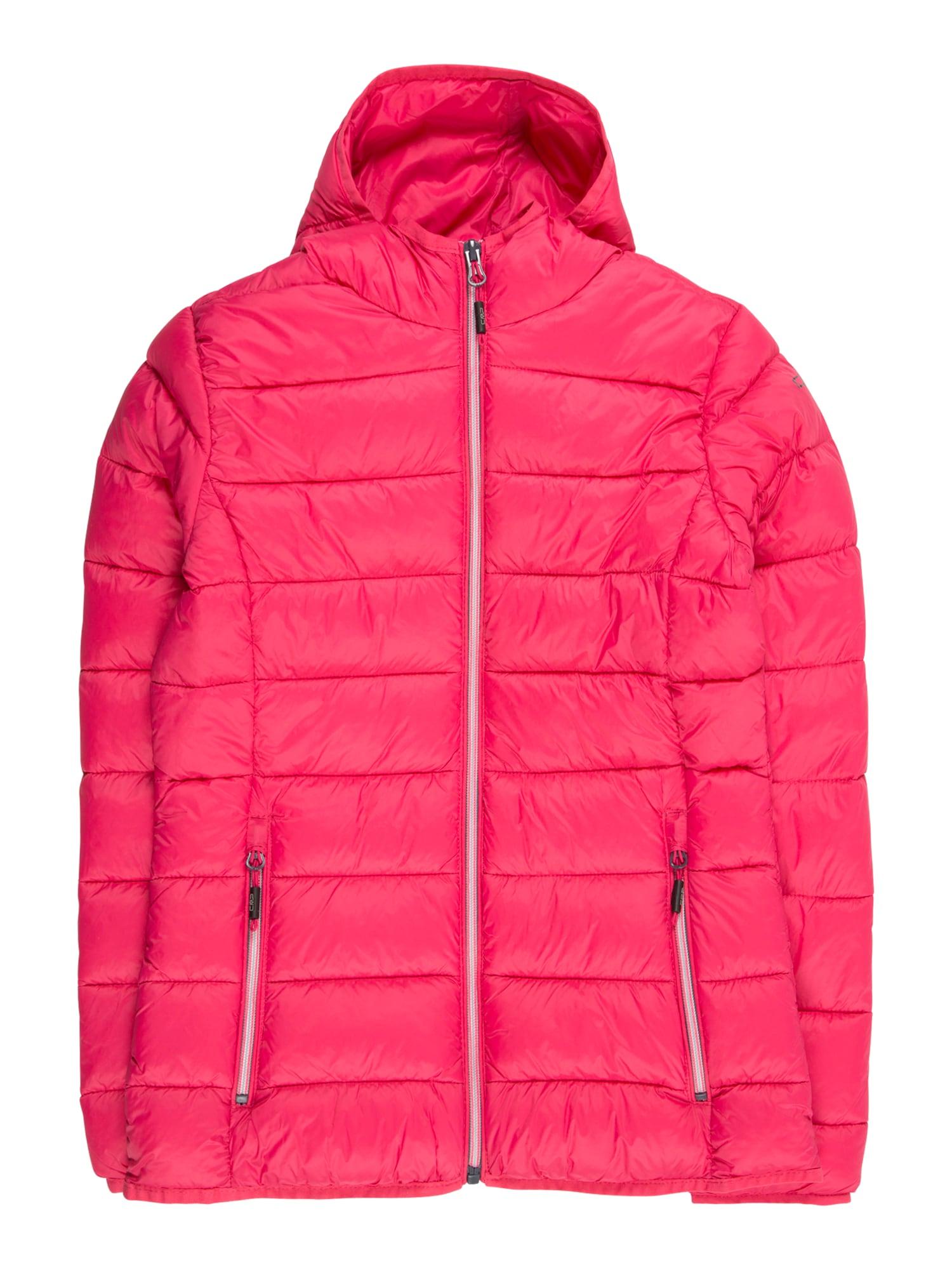 Zimní bunda tmavě růžová CMP