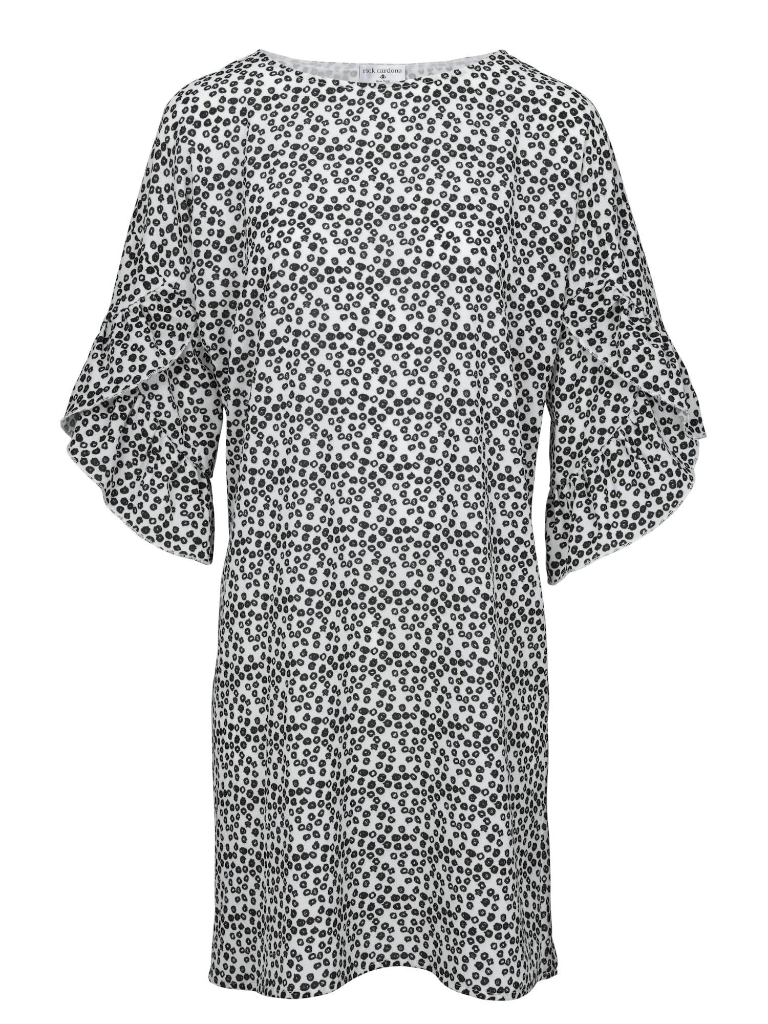 Druckkleid | Bekleidung > Kleider > Druckkleider | Schwarz - Weiß | heine