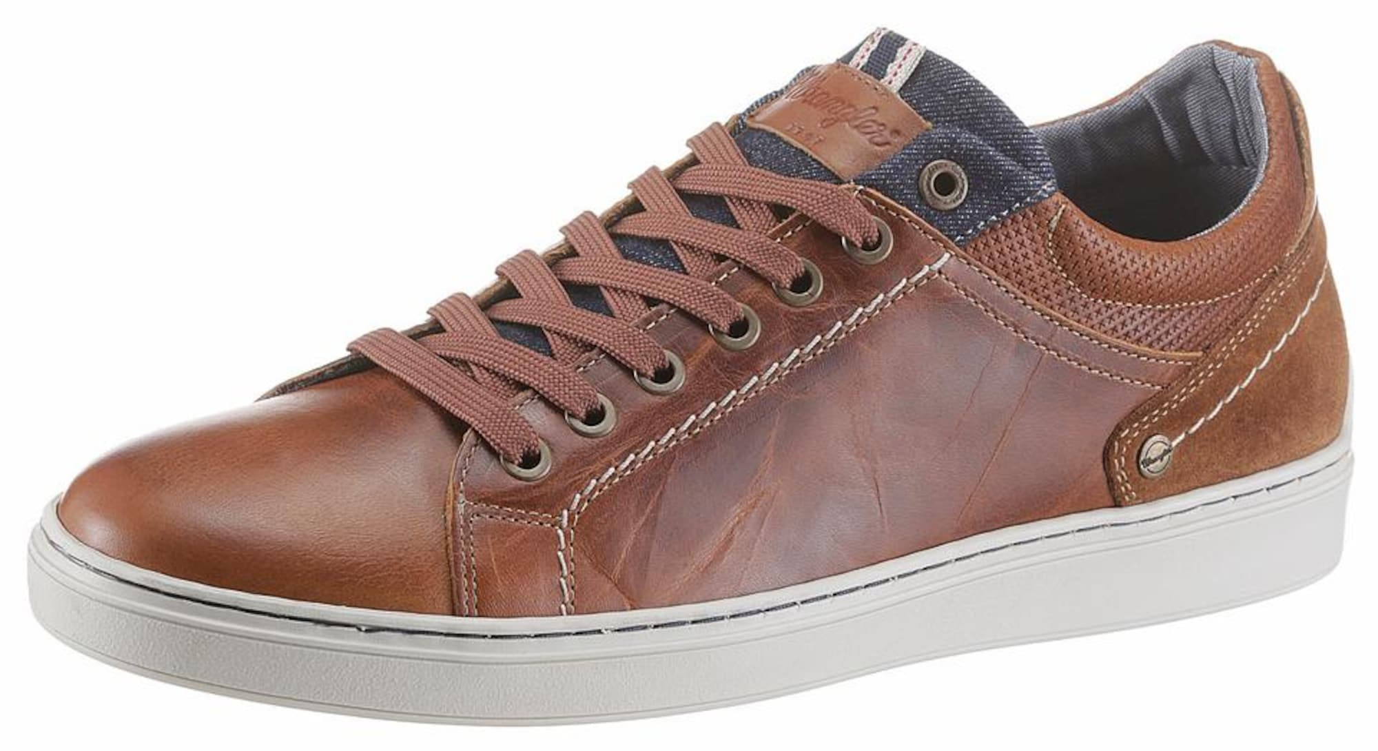 WRANGLER Heren Sneakers laag Owen Derby cognac