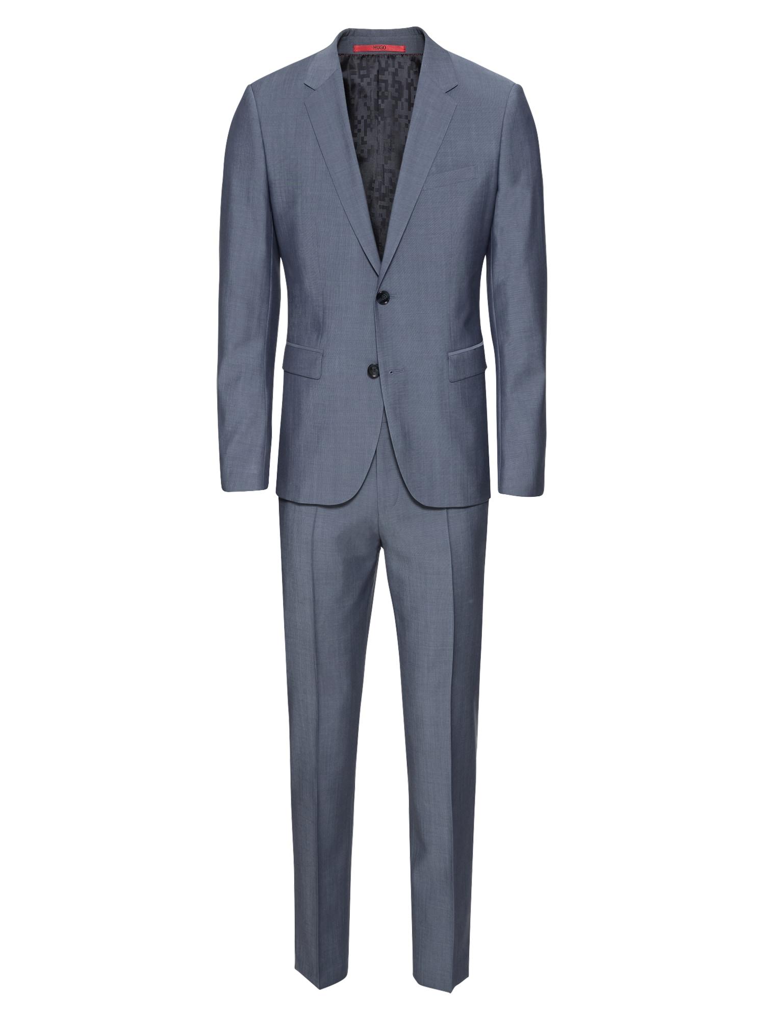 Oblek AstianHets184 10178011 01 modrá HUGO