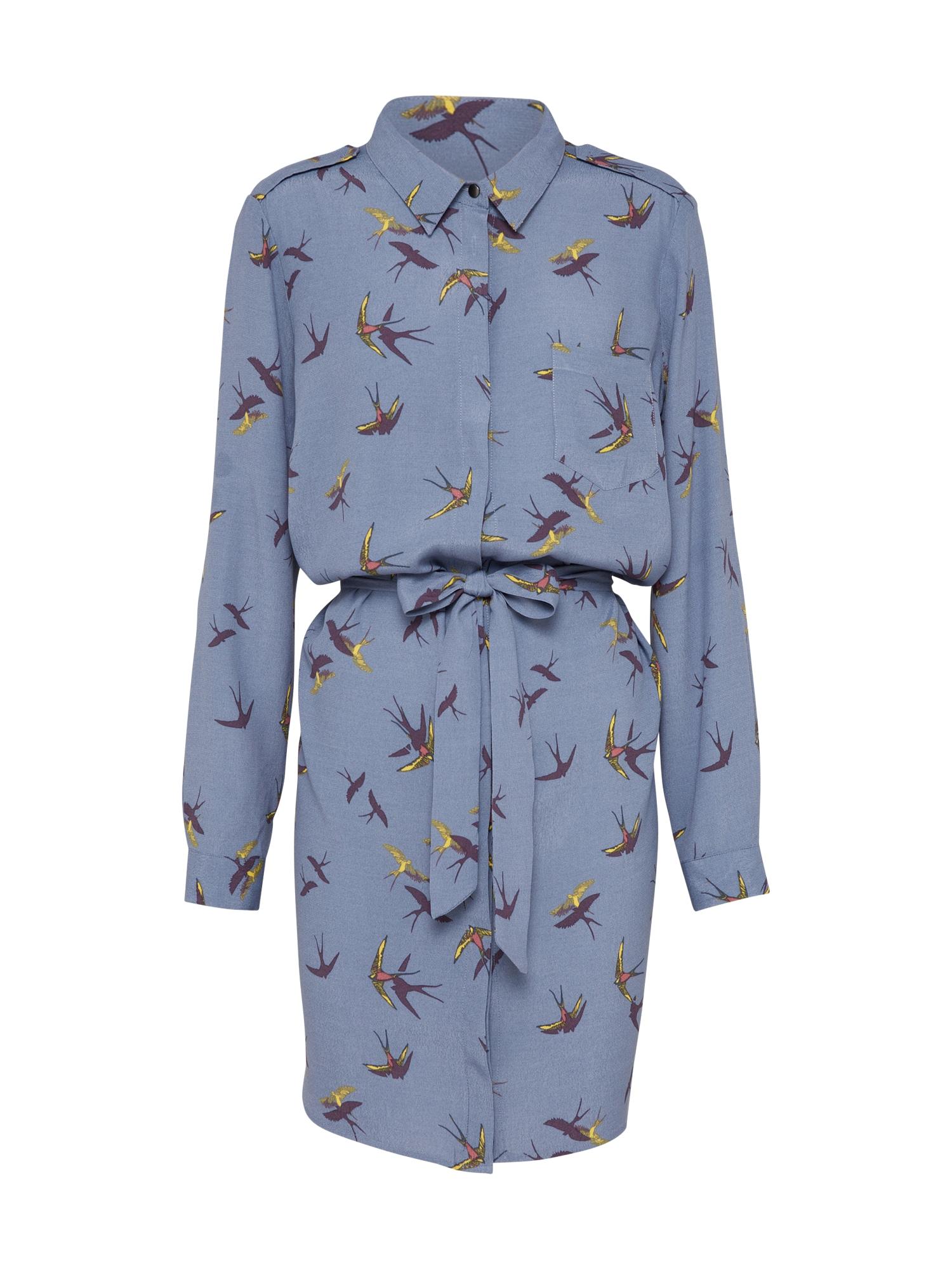 Košilové šaty BIRD chladná modrá SAINT TROPEZ