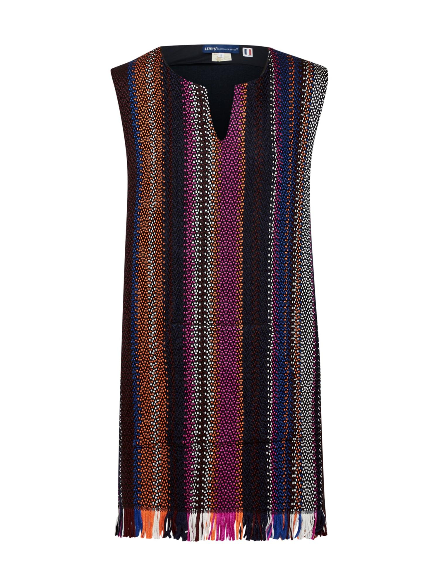 Levis Made & Crafted Koktejlové šaty černá Levi's Made & Crafted