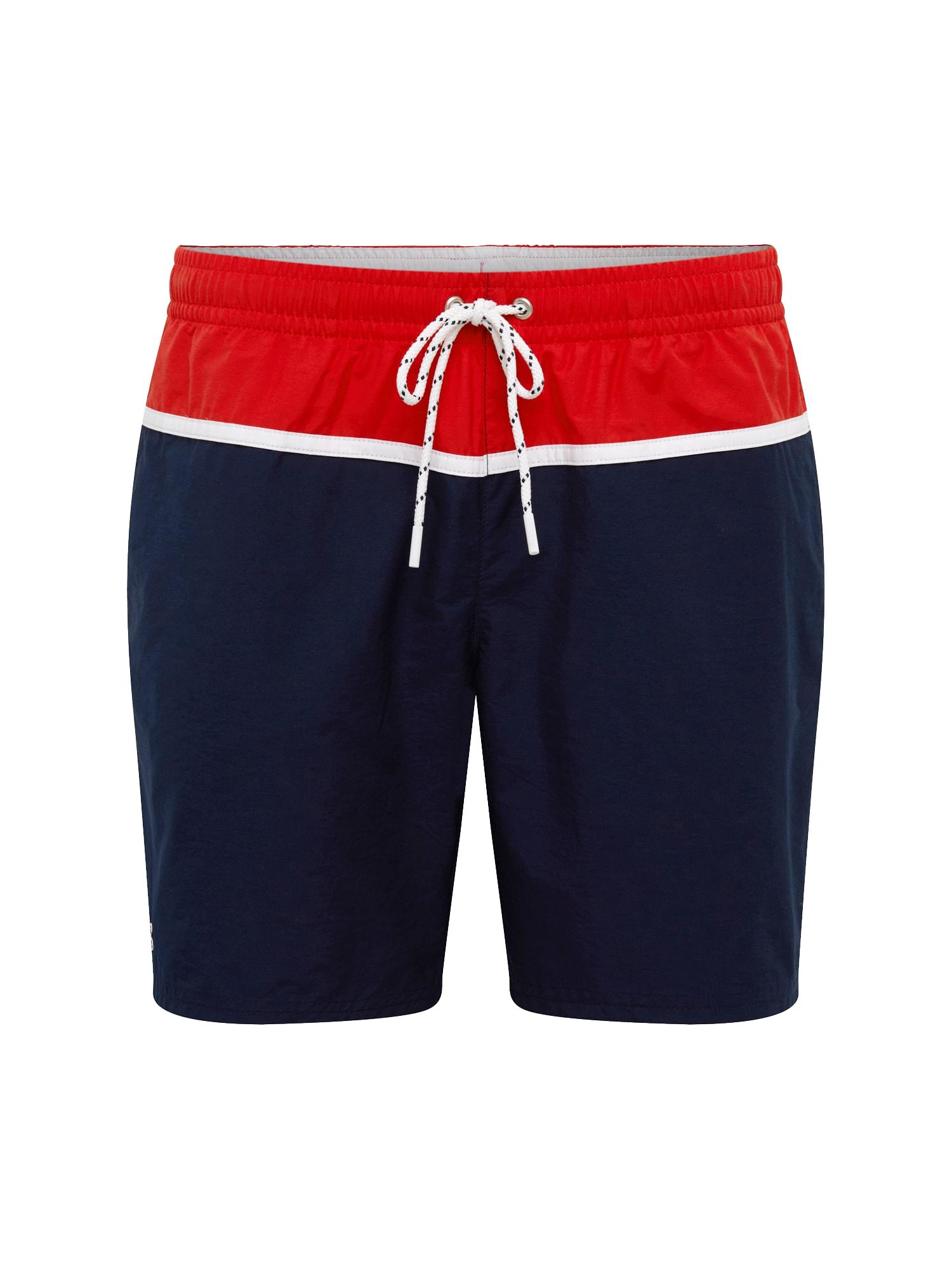Plavecké šortky MAILLOT DE BAIN marine mischfarben LACOSTE