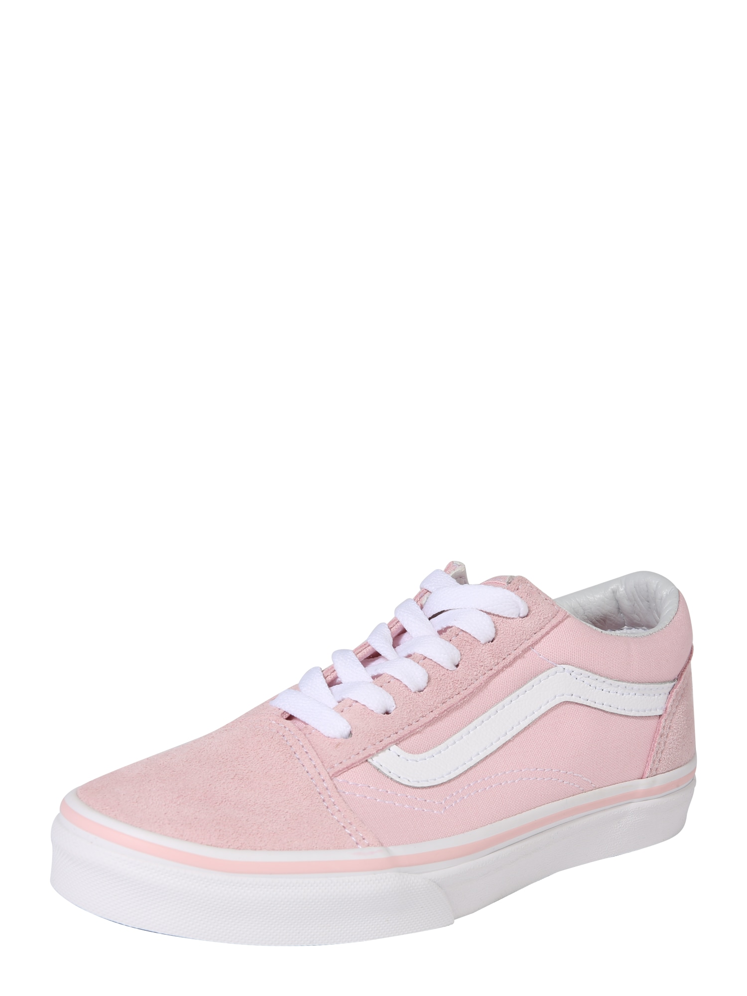 VANS, Jongens Sneakers 'Old Skool', rosa / wit