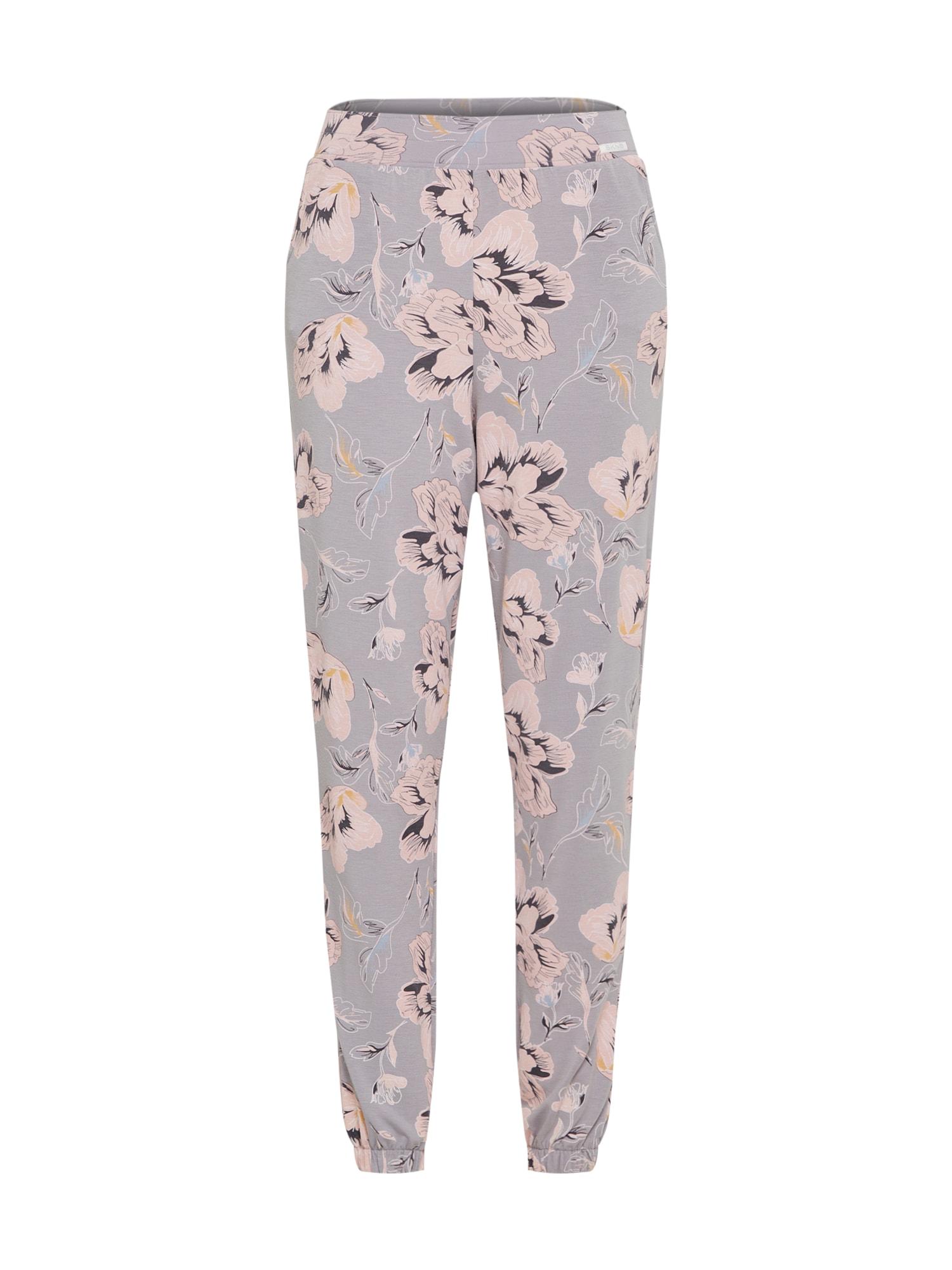 Pyžamové kalhoty Identity šedobéžová mix barev Skiny
