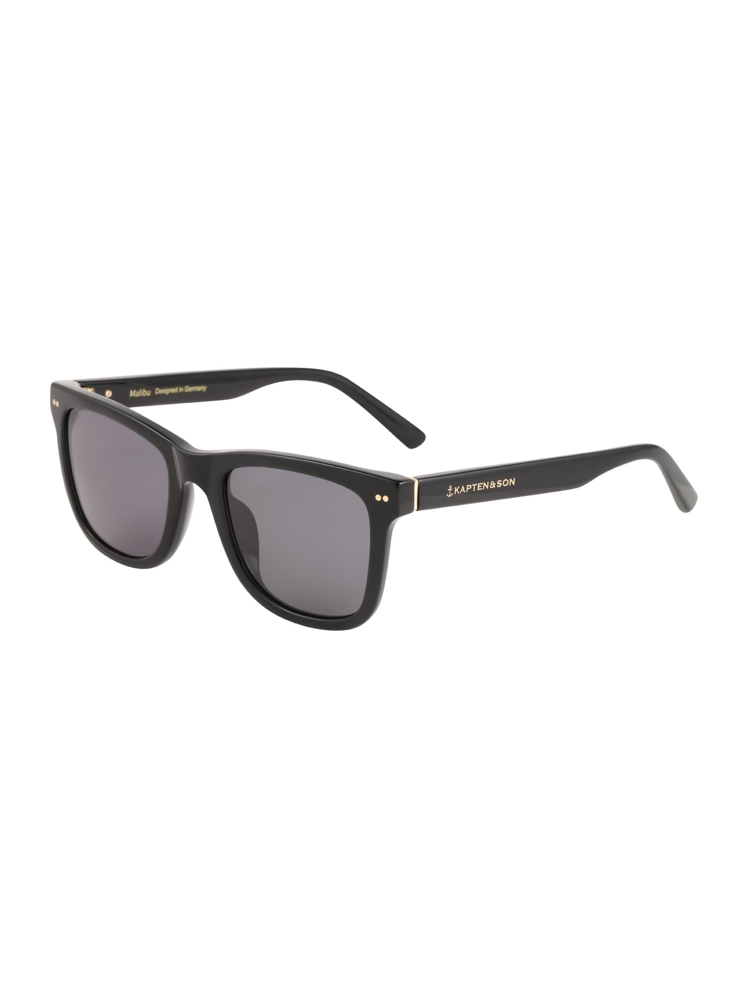 Sluneční brýle Malibu černá Kapten & Son