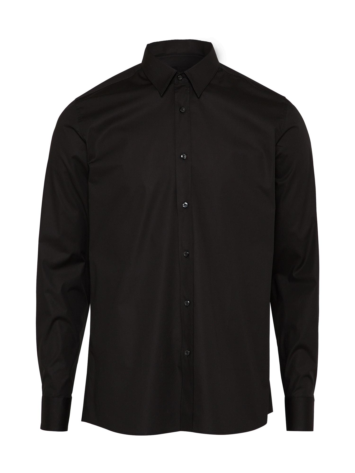 Společenská košile Elisha01 černá HUGO