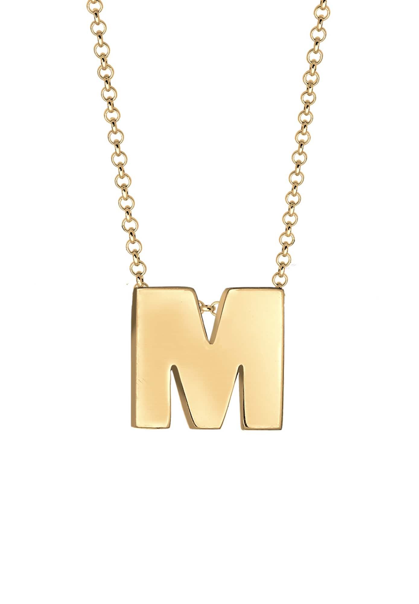 Halskette | Schmuck > Halsketten > Lange Ketten | Gold | ELLI