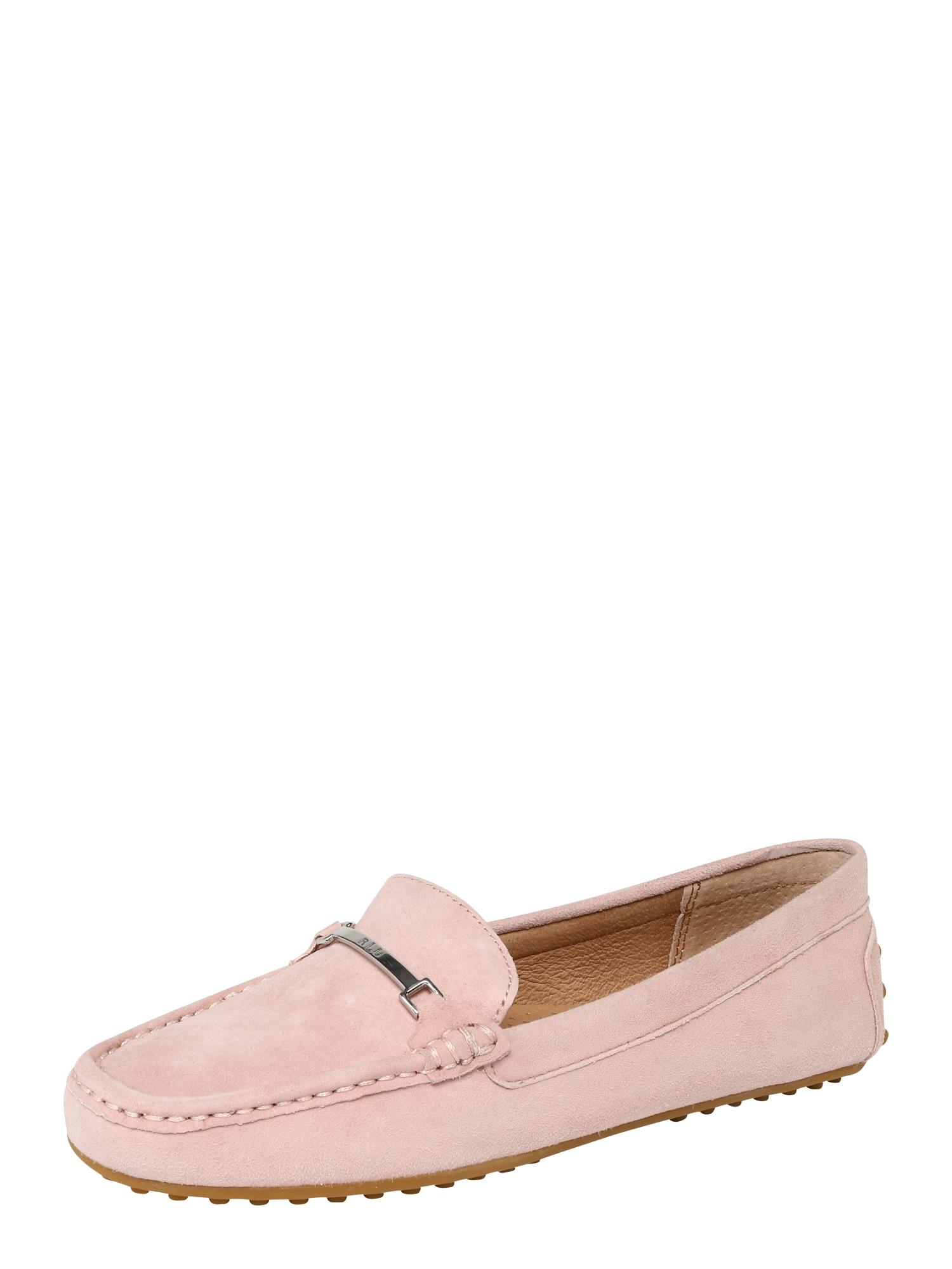 Slipper BRIONY-FLATS-CASUAL růžová Lauren Ralph Lauren