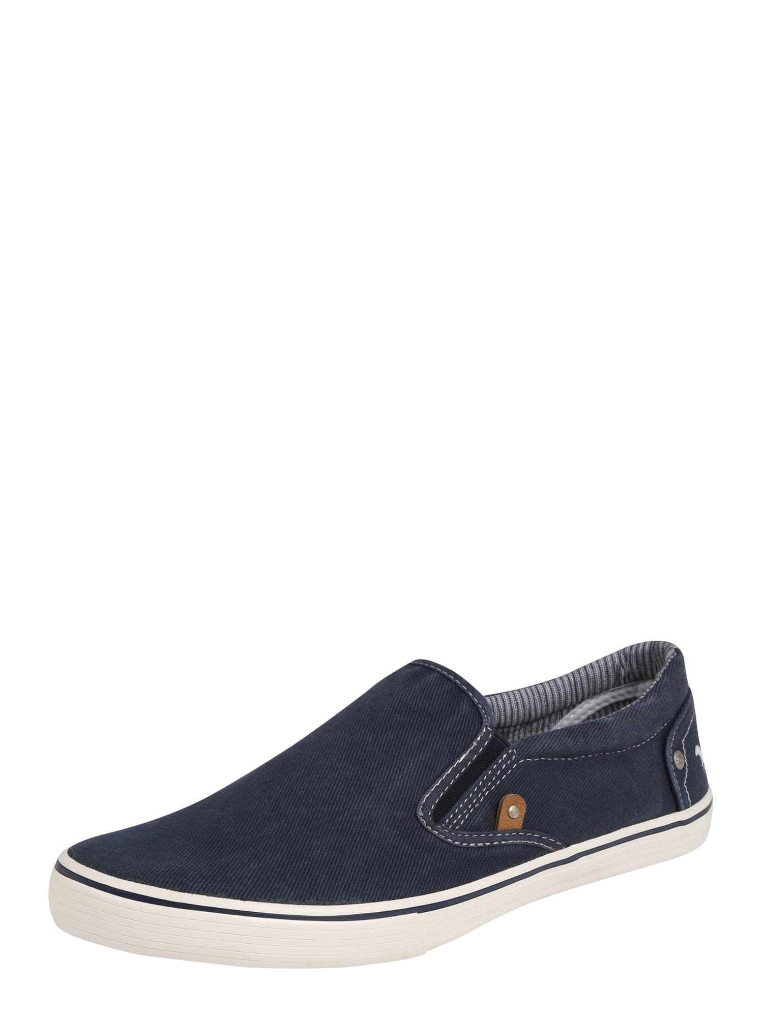 Slip on boty tmavě modrá MUSTANG