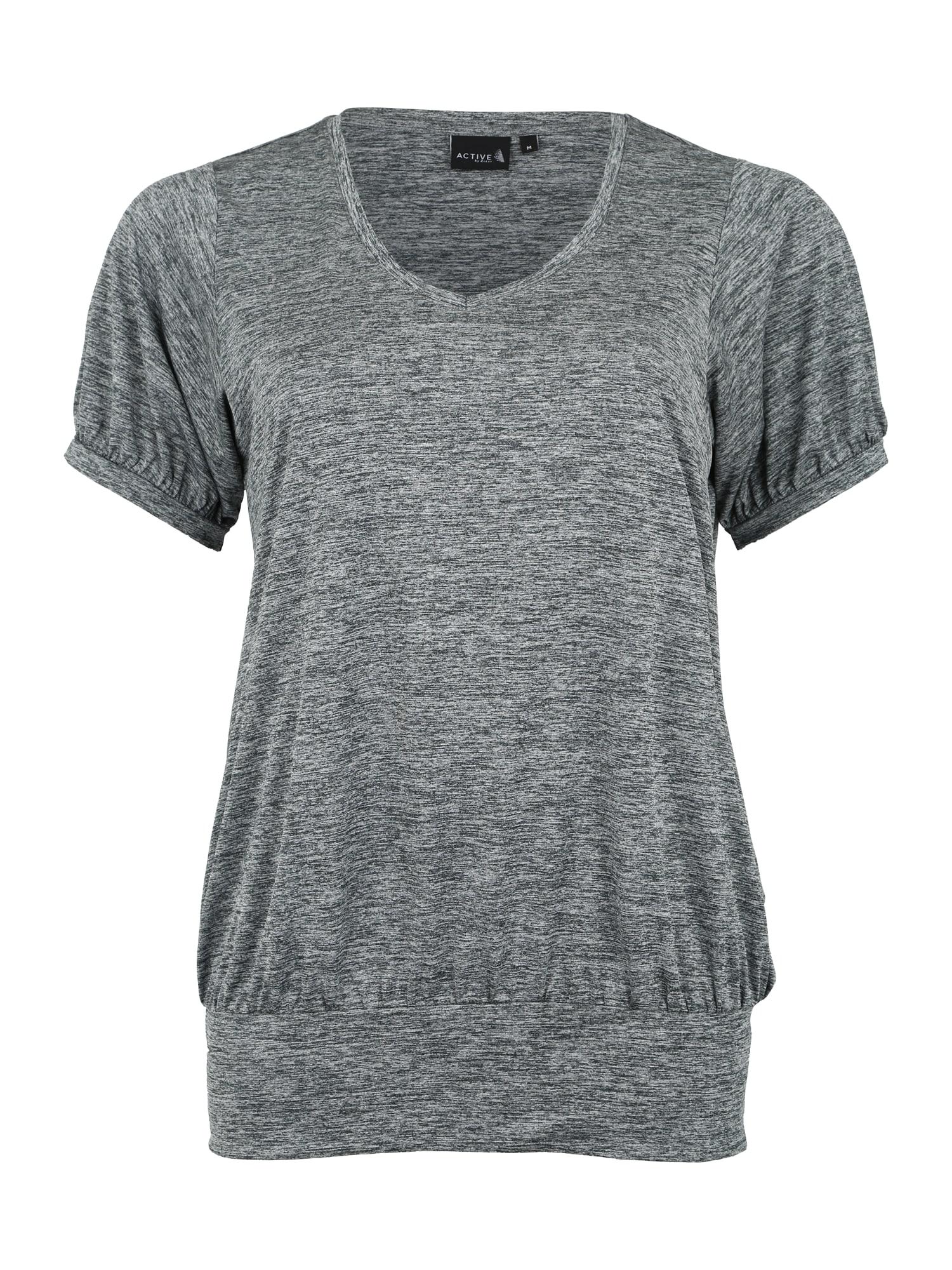 Funkční tričko RANCISCO tmavě šedá Active By Zizzi