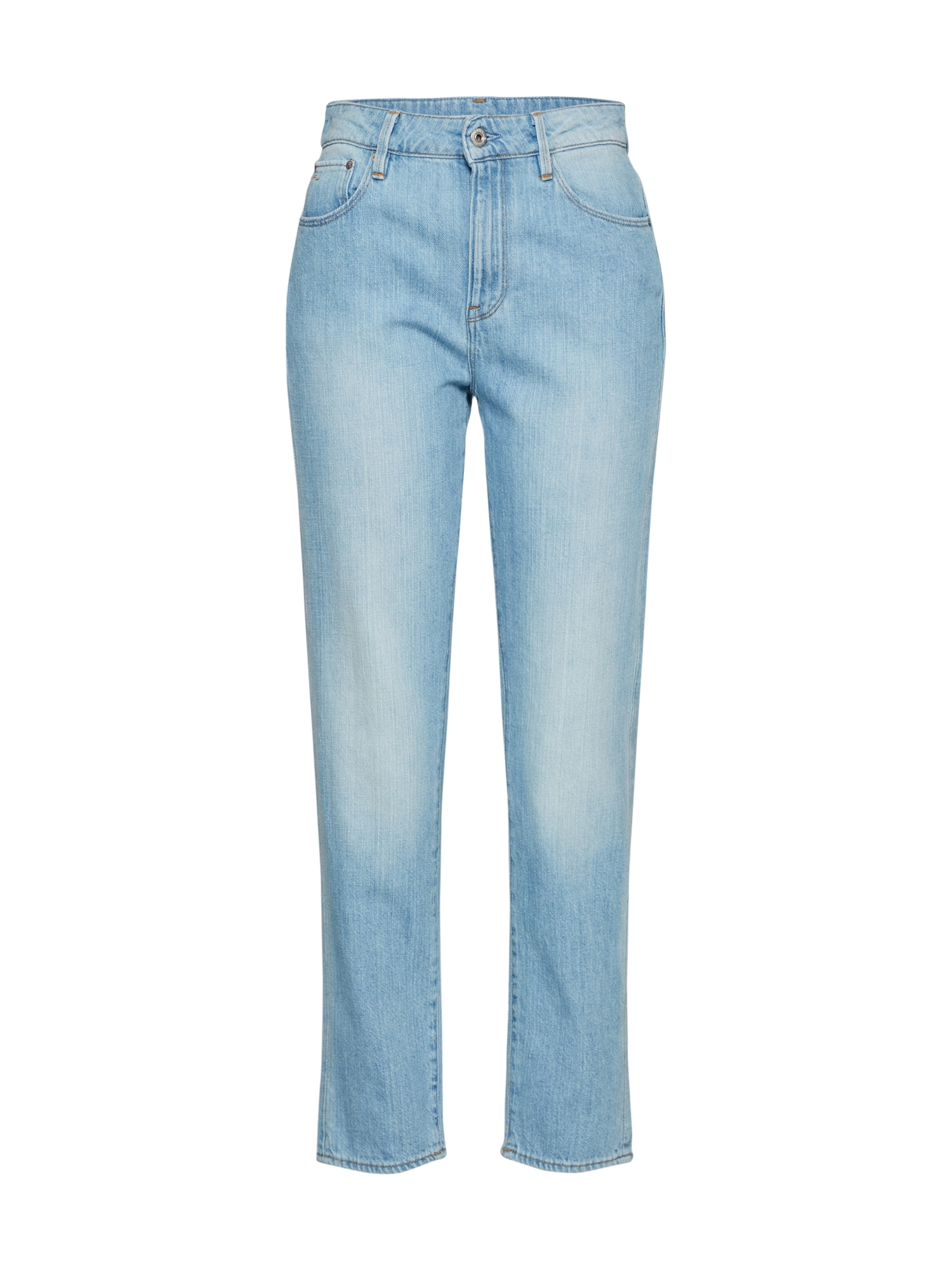 G-STAR RAW Dames Jeans 3301 High Straight 90's Ankle Wmn blauw denim