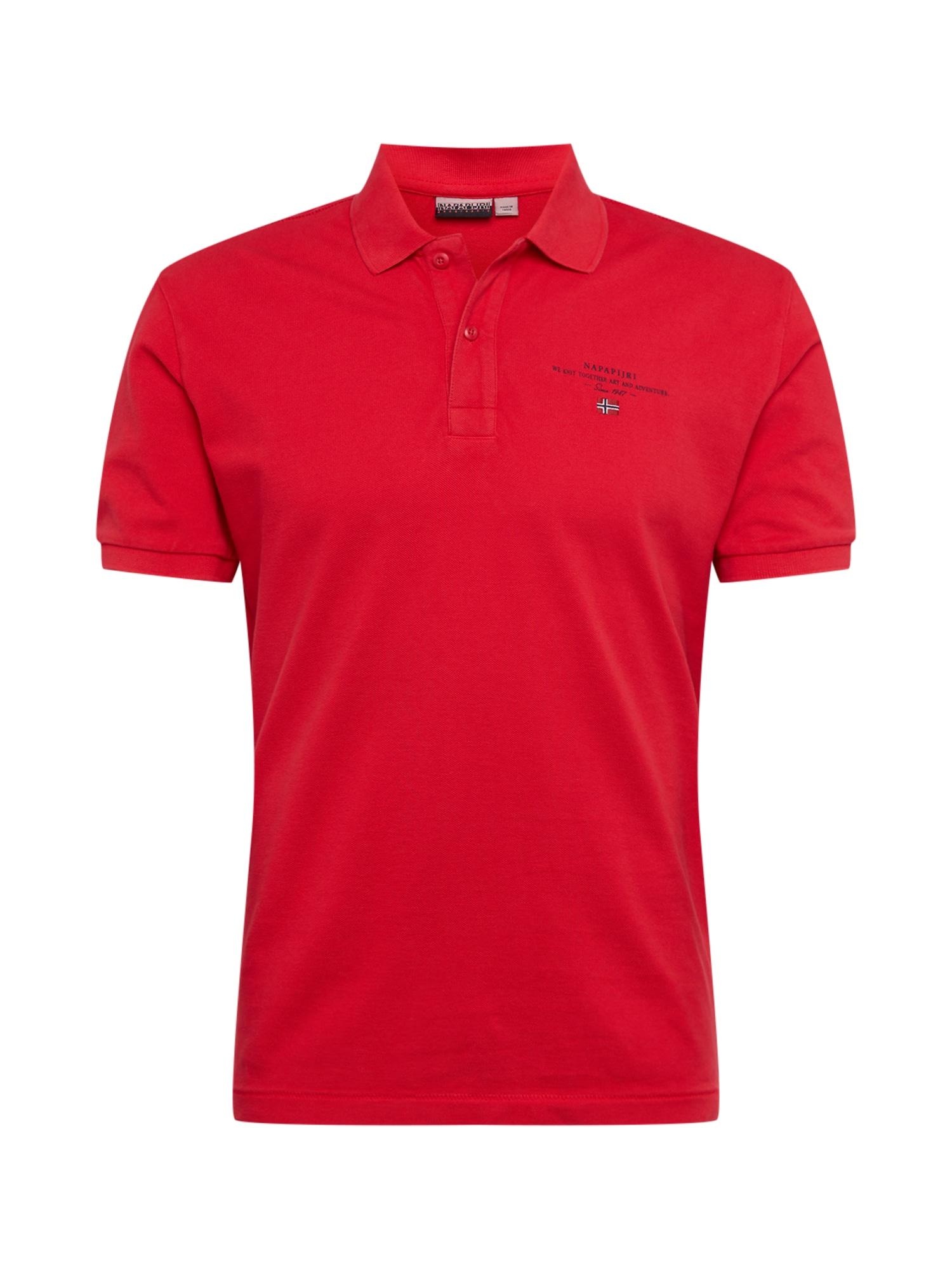 NAPAPIJRI Tričko 'ELBAS 3'  červená