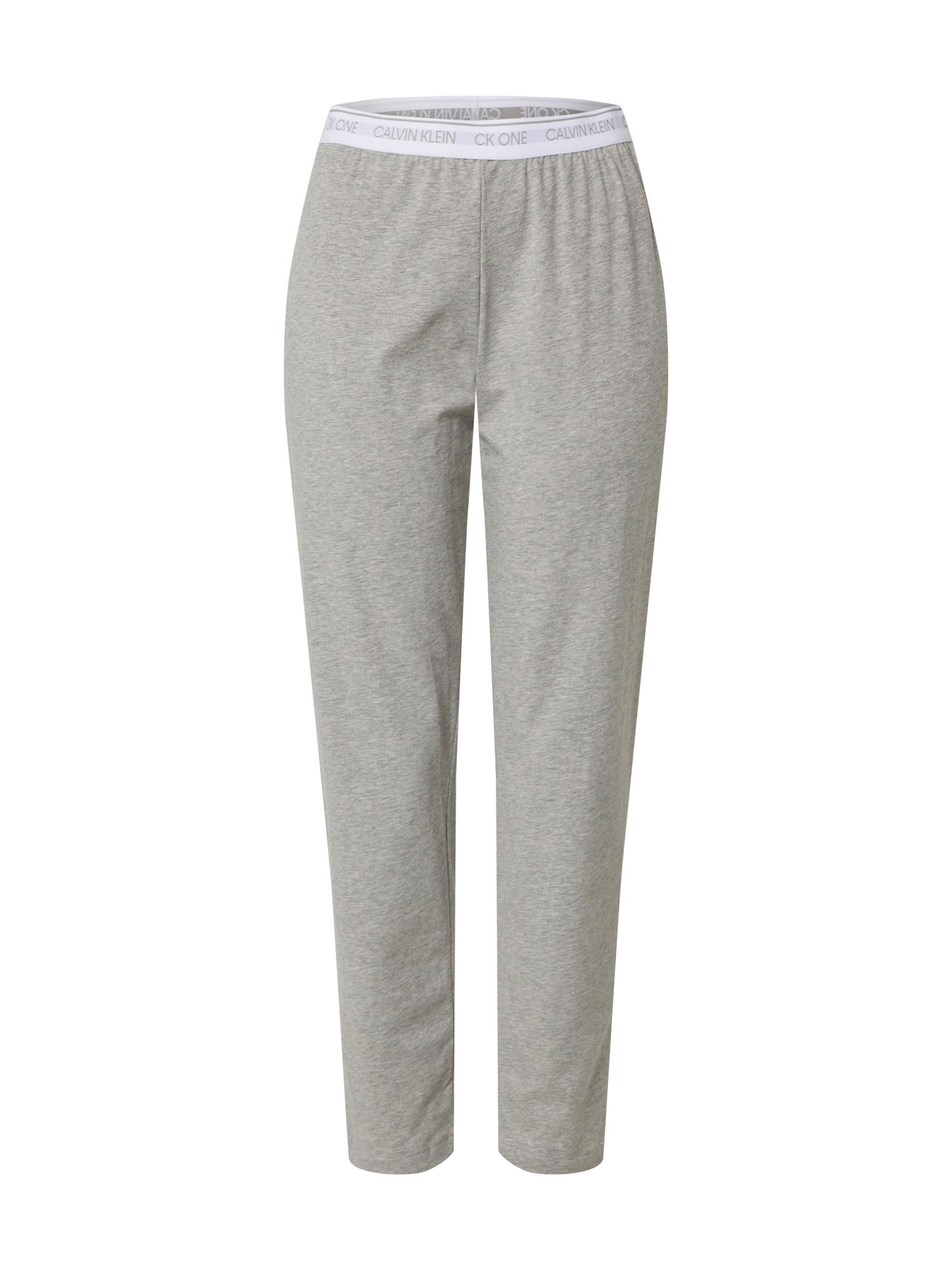 Calvin Klein Underwear Pyžamové kalhoty  šedá
