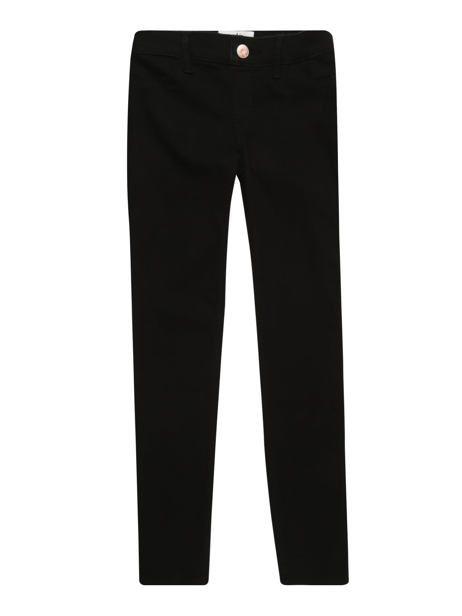 Džíny (B-OME1235) BTS17-BLACK POJL 1CC černá džínovina Abercrombie & Fitch