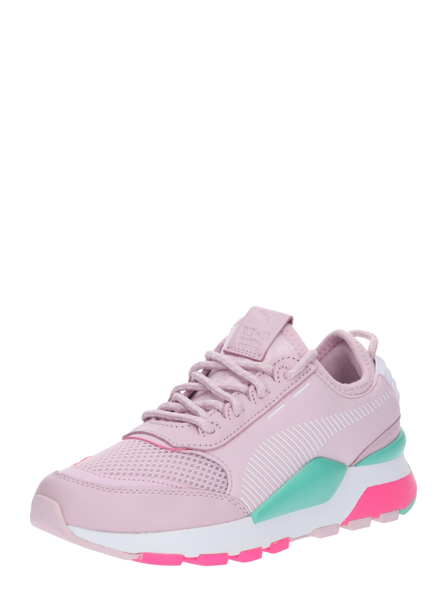 PUMA, Heren Sneakers laag 'RS-0 PLAY', turquoise / sering / neonroze