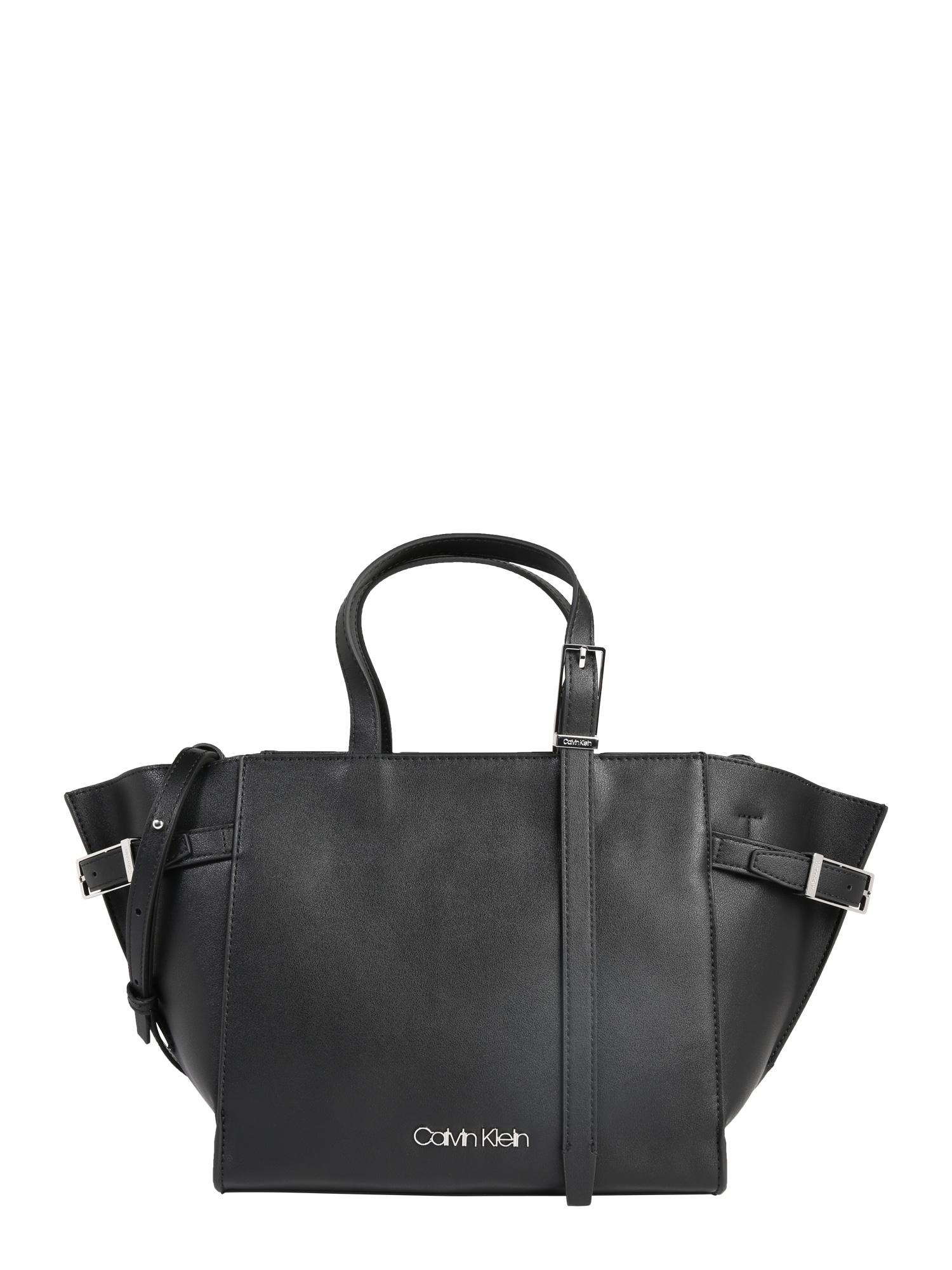 Taška přes rameno EXTENDED TOTE černá Calvin Klein