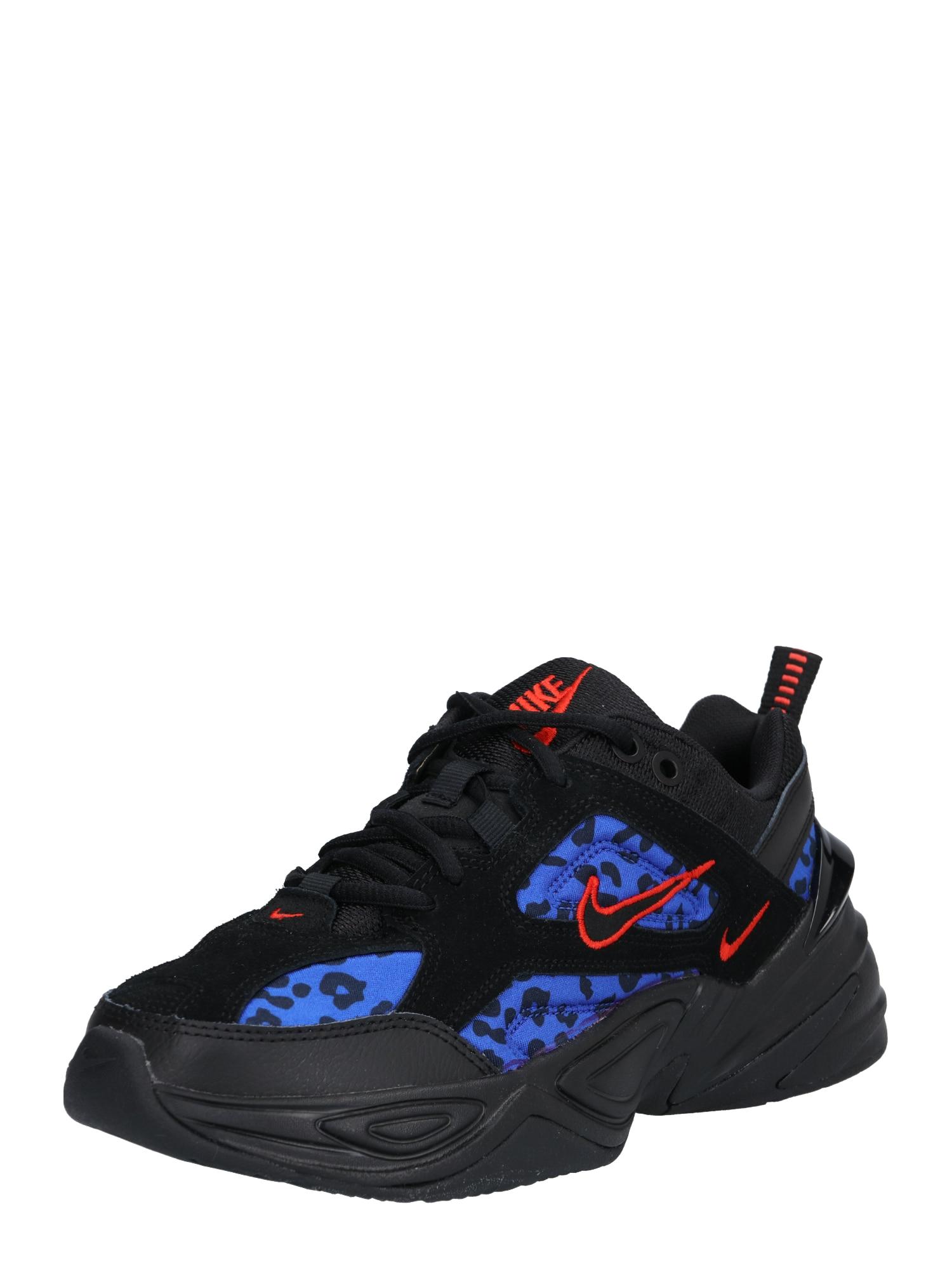 Nike Sportswear, Dames Sneakers laag 'W NIKE M2K TEKNO', aqua / rood / zwart