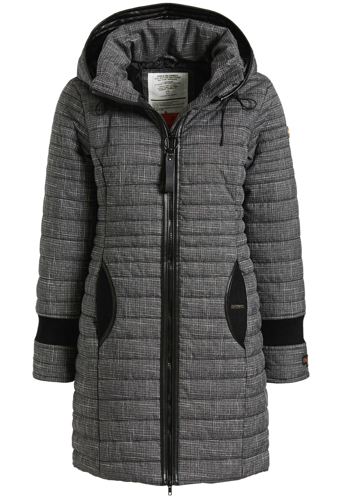 Zimní bunda DAILY2 šedá černá Khujo