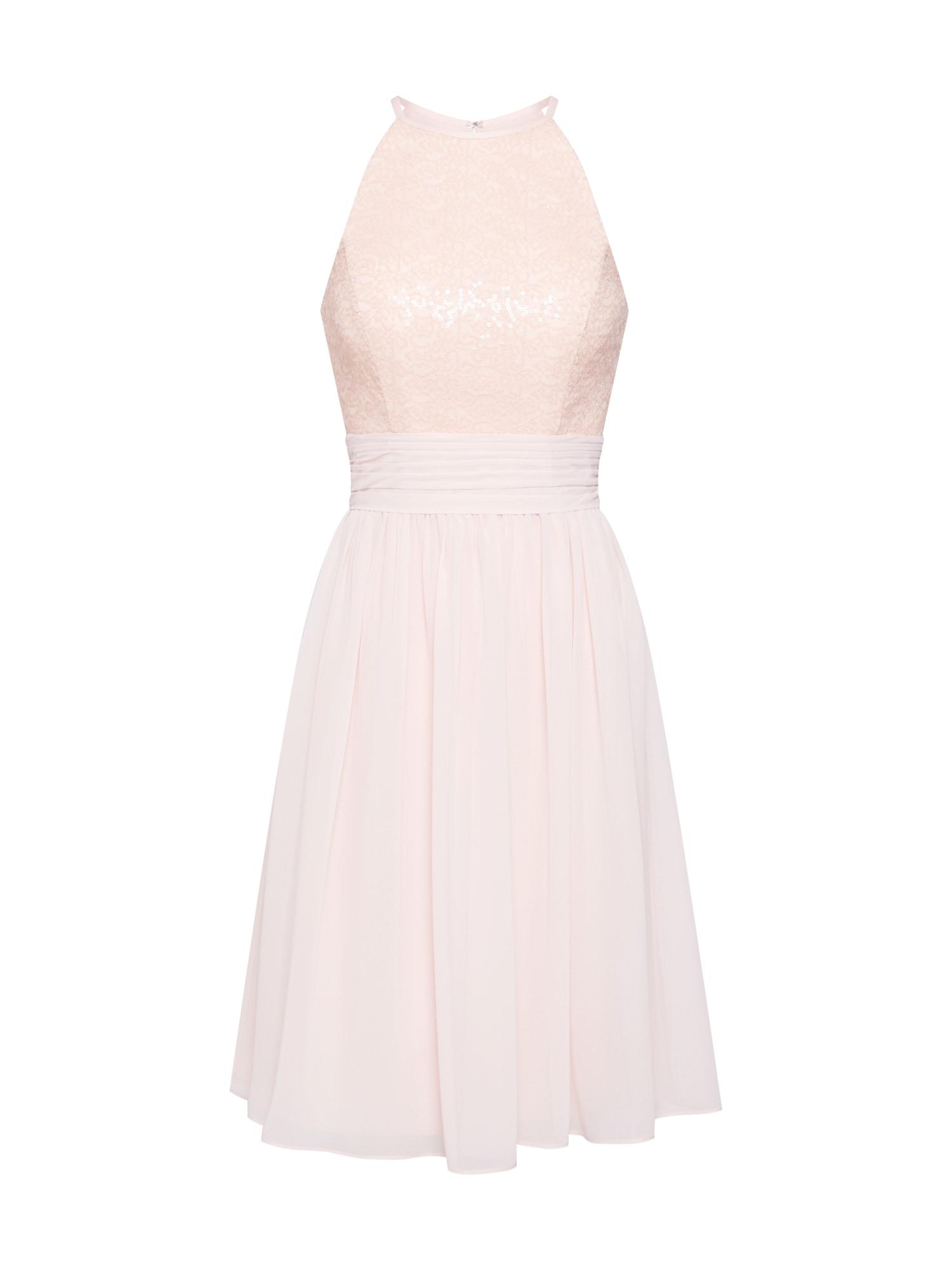 STAR NIGHT Sukienka koktajlowa  różowy pudrowy