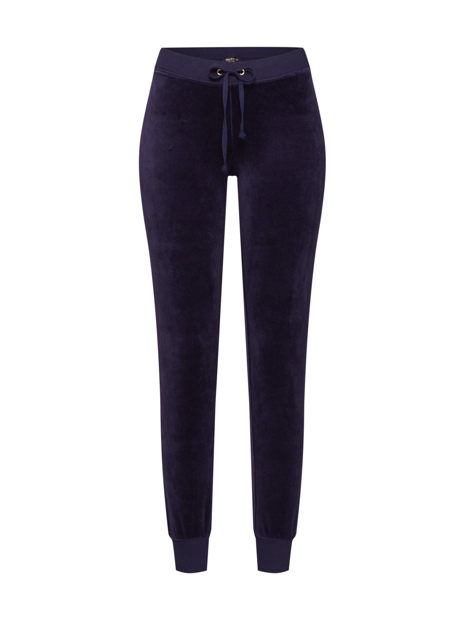 Kalhoty Velour Zuma noční modrá Juicy Couture Black Label